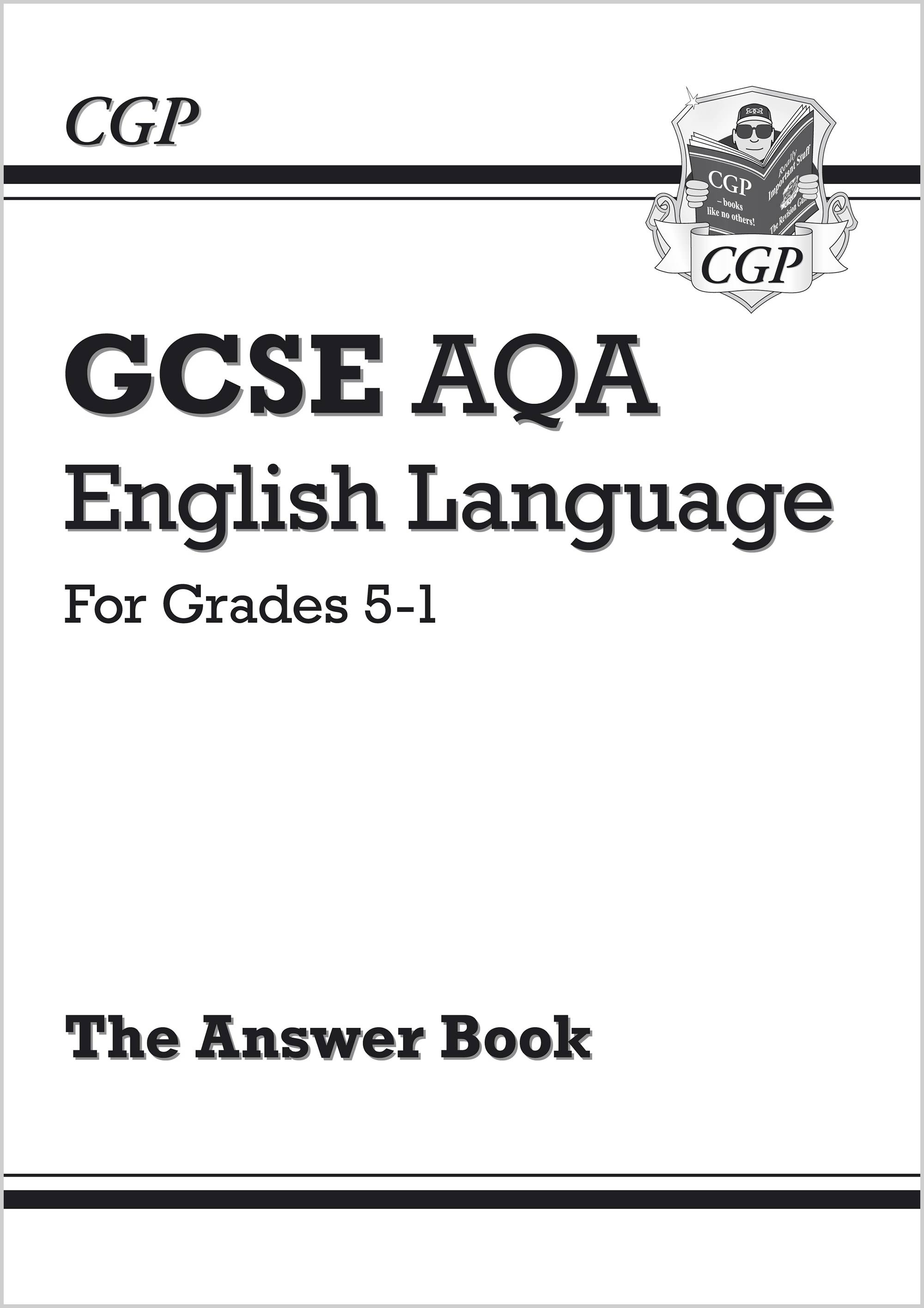 ENAFA41 - GCSE English Language AQA Answers for Study & Exam Practice: Grades 5-1
