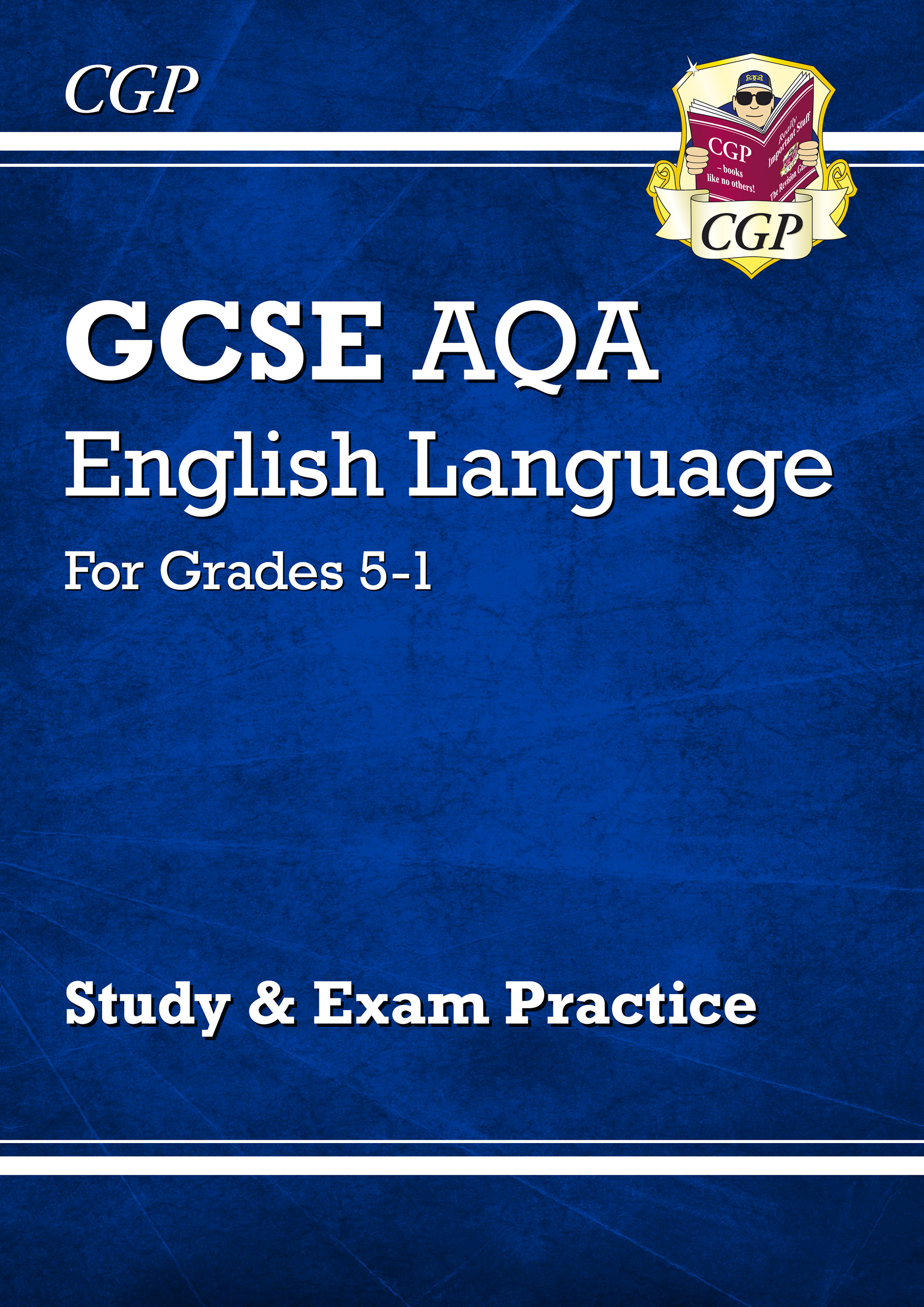ENAFR41 - GCSE English Language AQA Study & Exam Practice: Grades 5-1