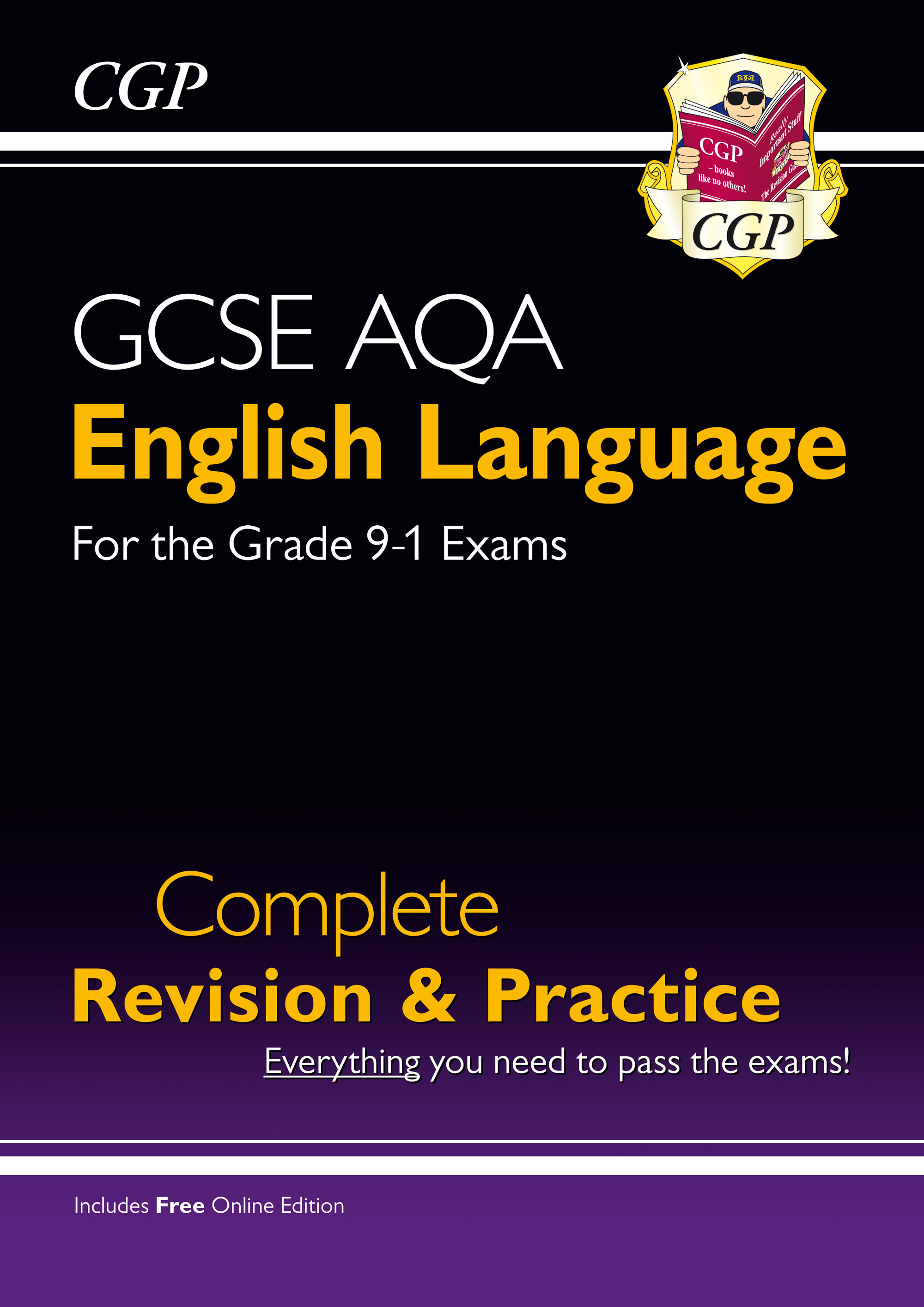 ENAS42 - GCSE English Language AQA Complete Revision & Practice - Grade 9-1 Course (with Online Edit