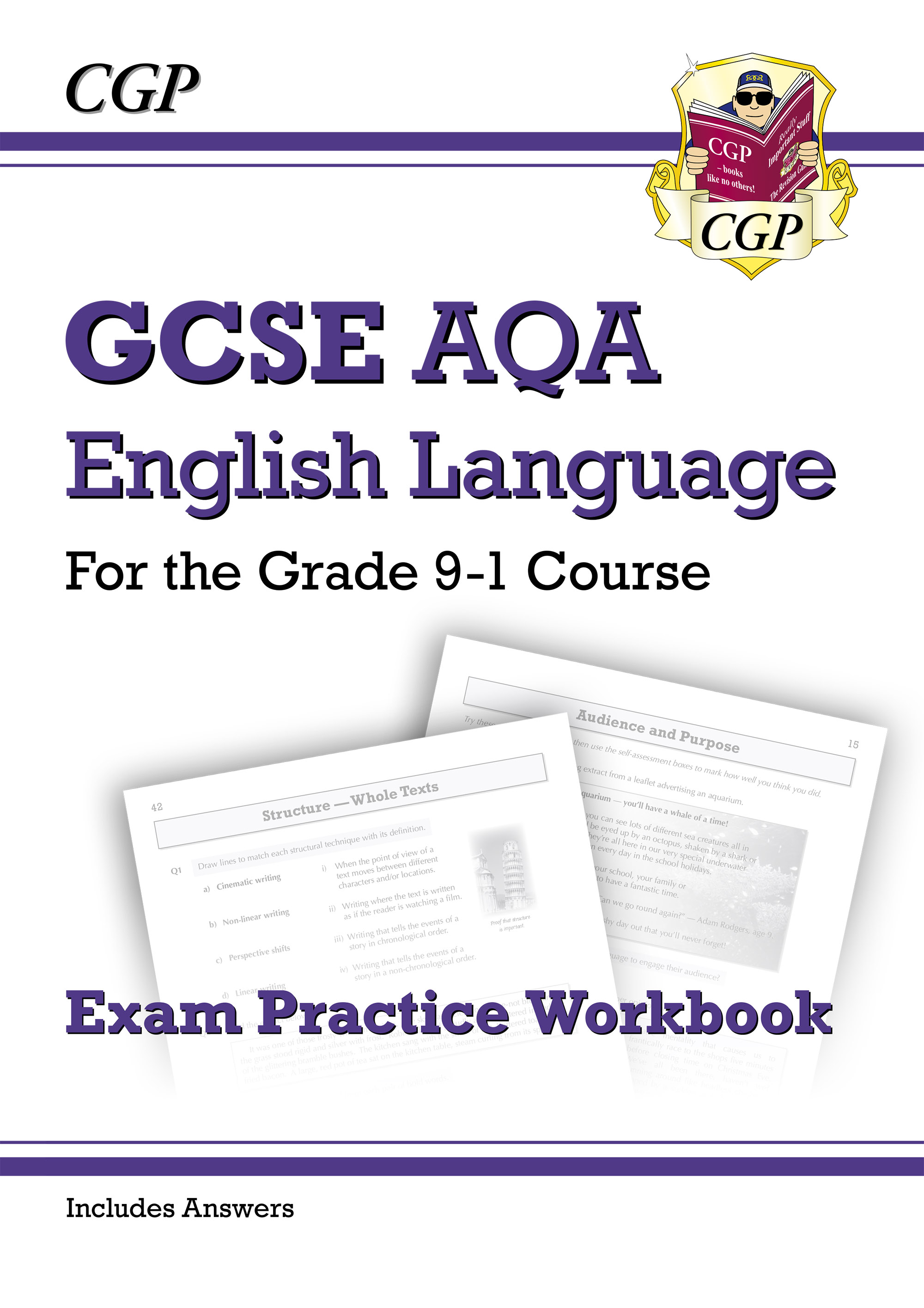 ENAW41DK - GCSE English Language AQA Workbook - for the Grade 9-1 Course (includes Answers)