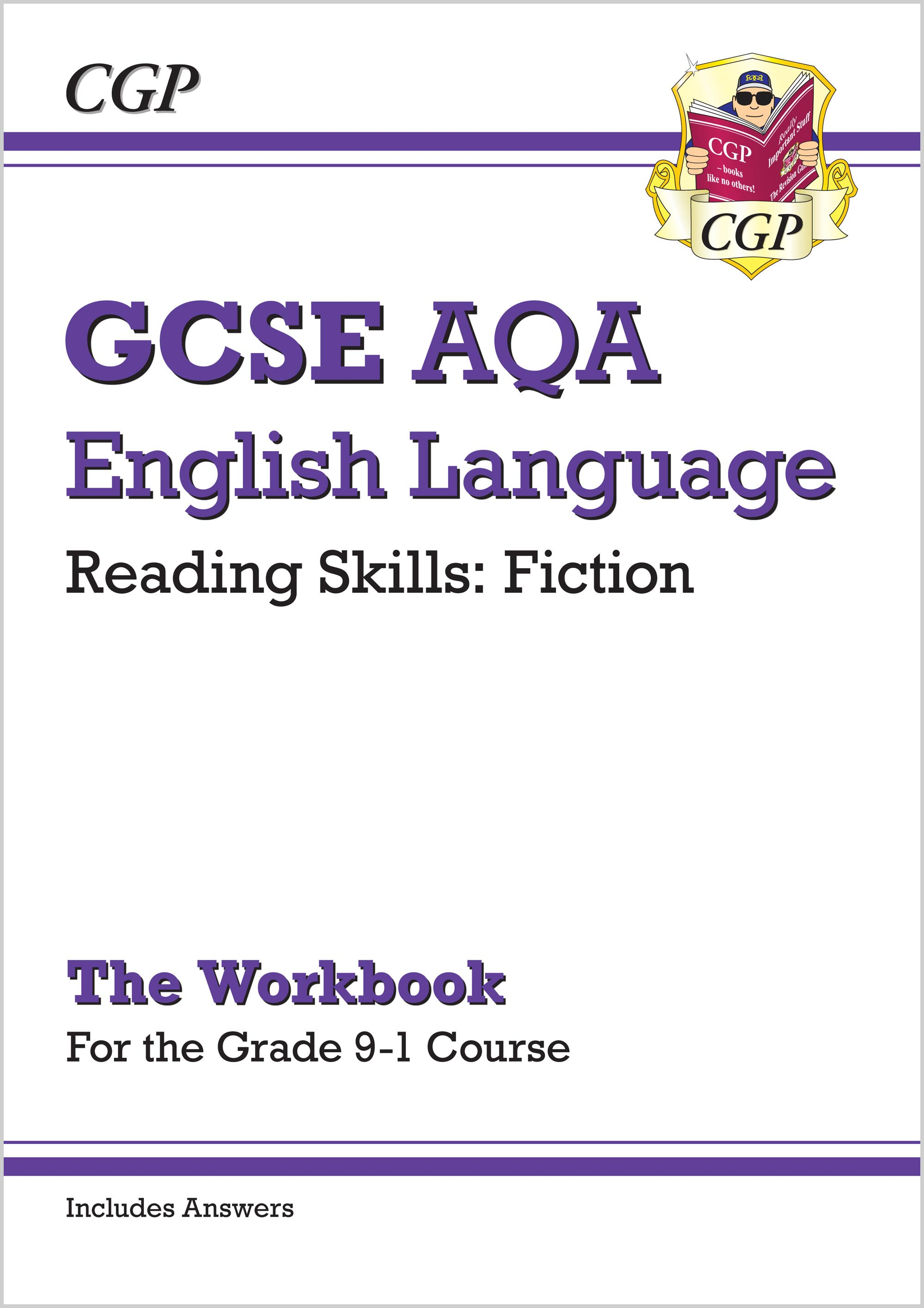 ENCAWF41 - New Grade 9-1 GCSE English Language AQA Reading Skills Workbook: Fiction (includes Answer