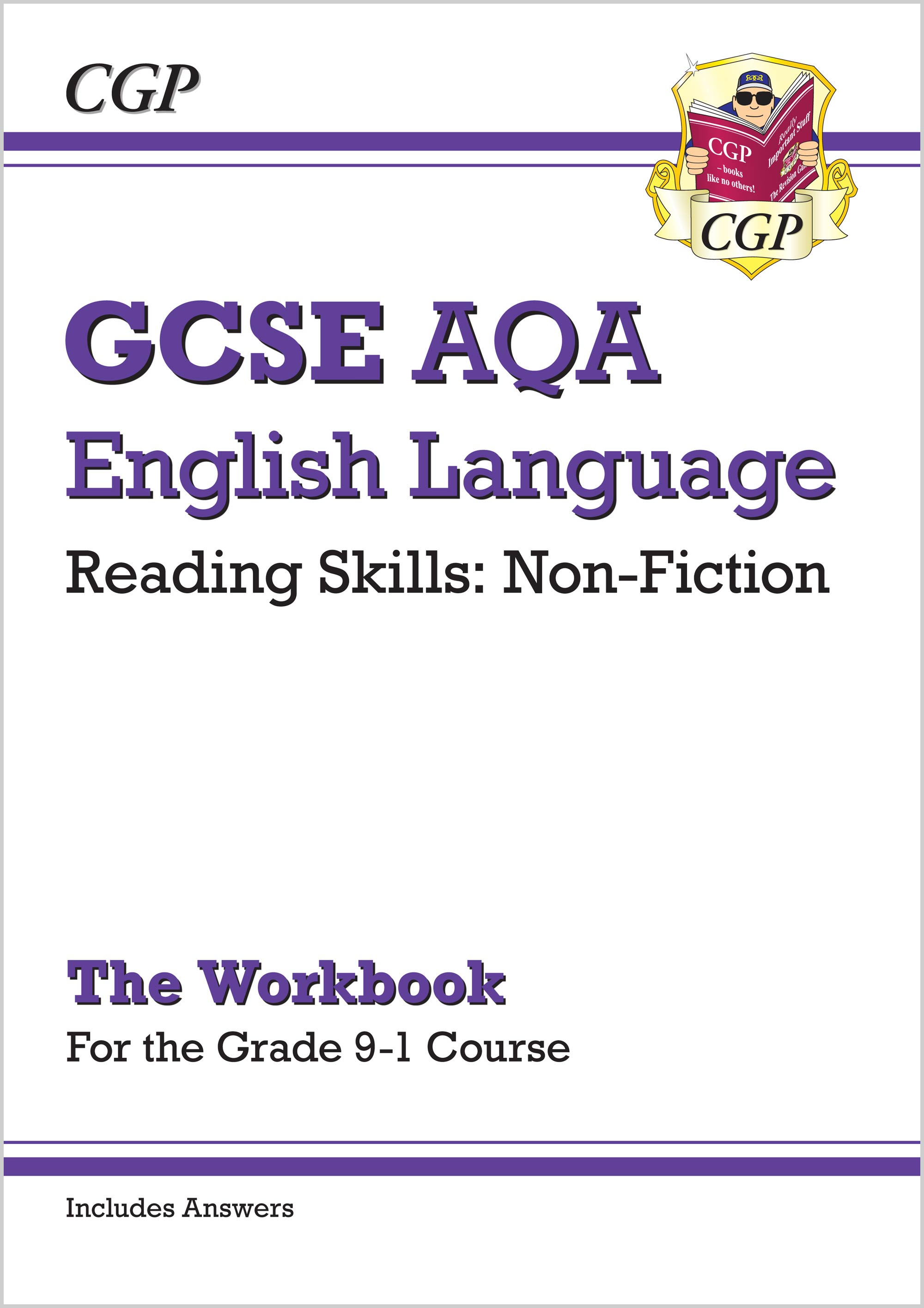 ENCAWN41 - New Grade 9-1 GCSE English Language AQA Reading Skills Workbook: Non-Fiction (includes An
