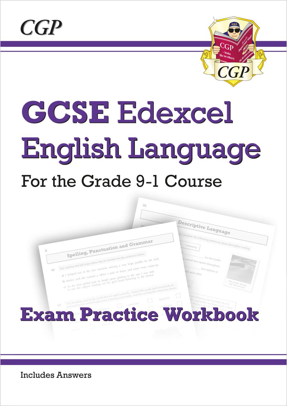 ENEW41 - GCSE English Language Edexcel Workbook - for the Grade 9-1 Course (includes Answers)