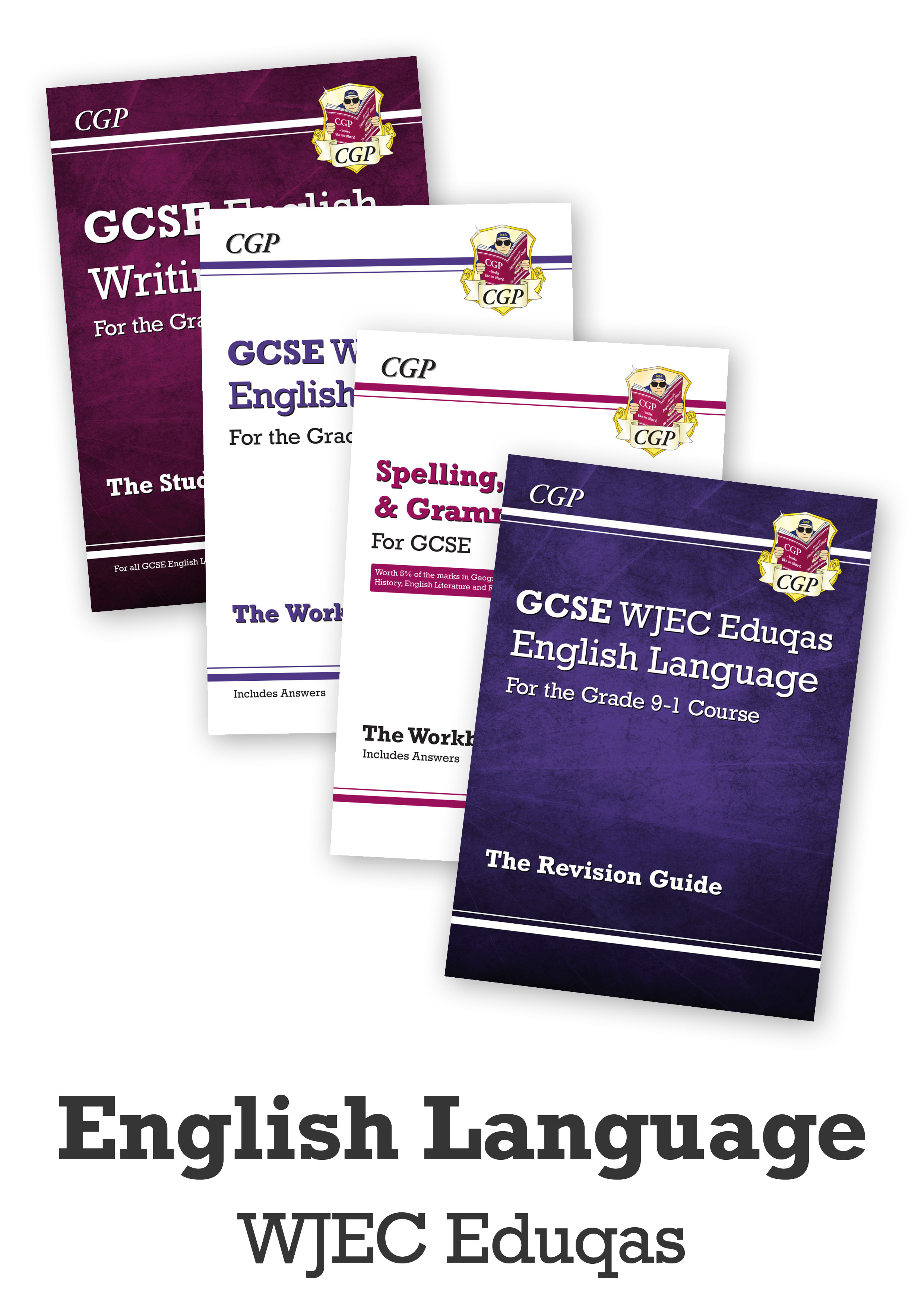 ENWCUB41 - GCSE Catch-Up Essentials Bundle: WJEC Eduqas English Language