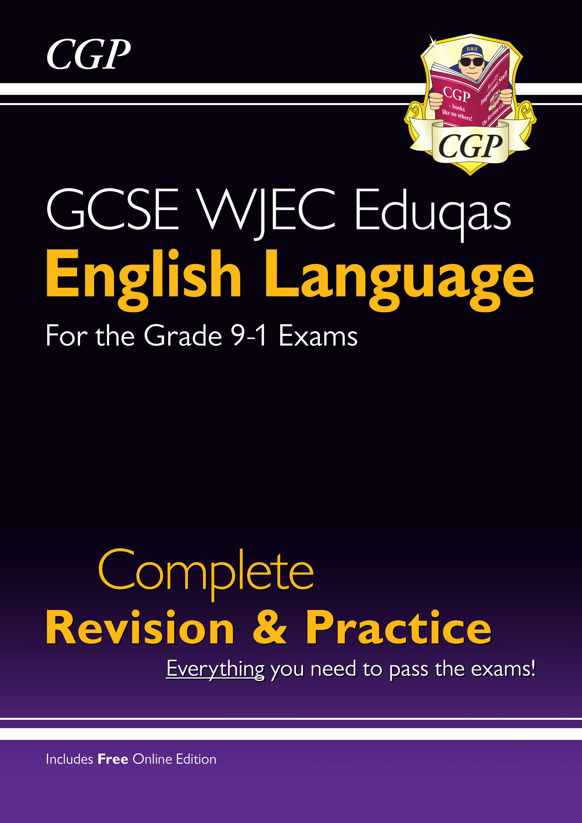ENWS41 - New Grade 9-1 GCSE English Language WJEC Eduqas Complete Revision & Practice (with Online E
