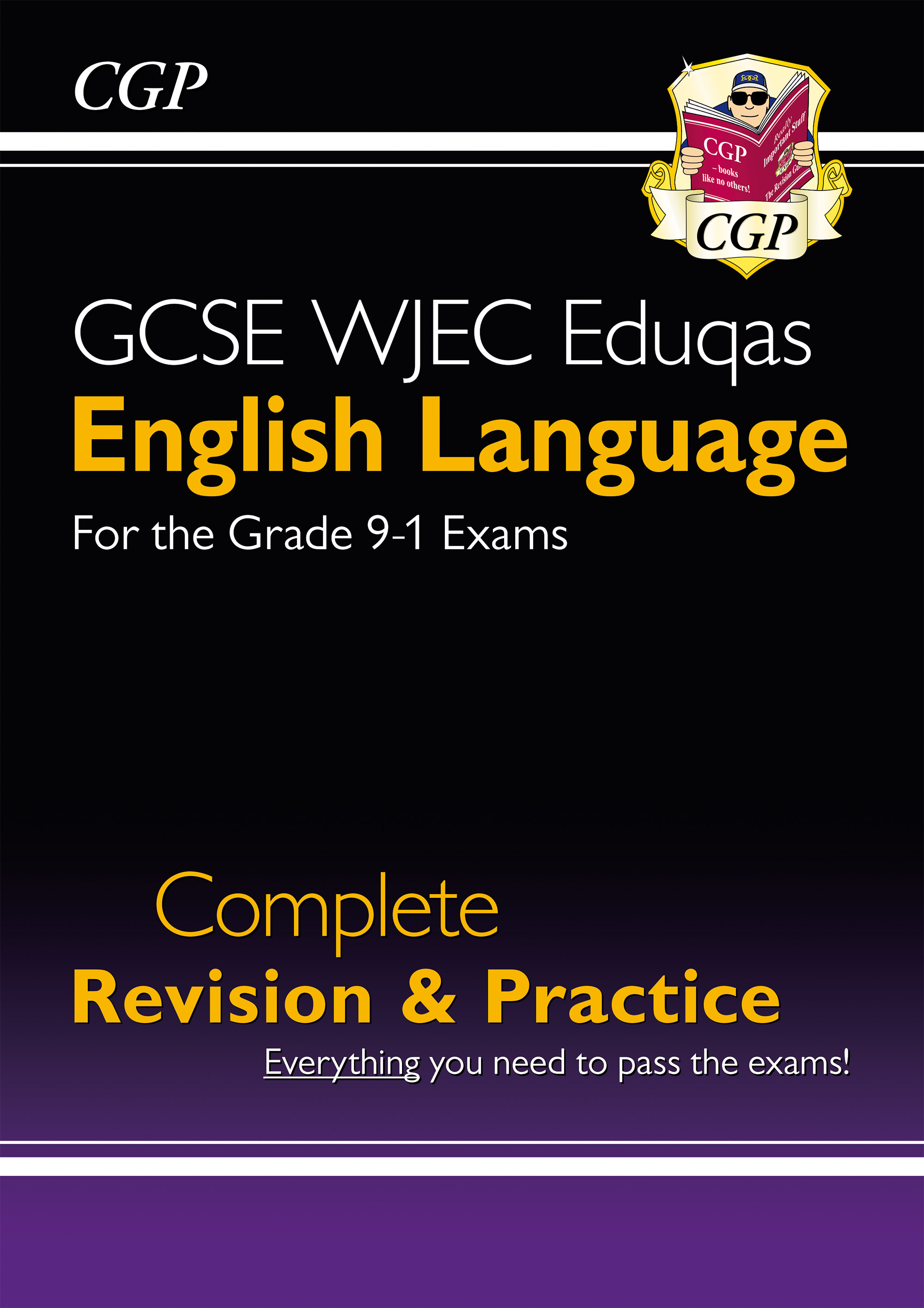 ENWS41DK - New Grade 9-1 GCSE English Language WJEC Eduqas Complete Revision & Practice