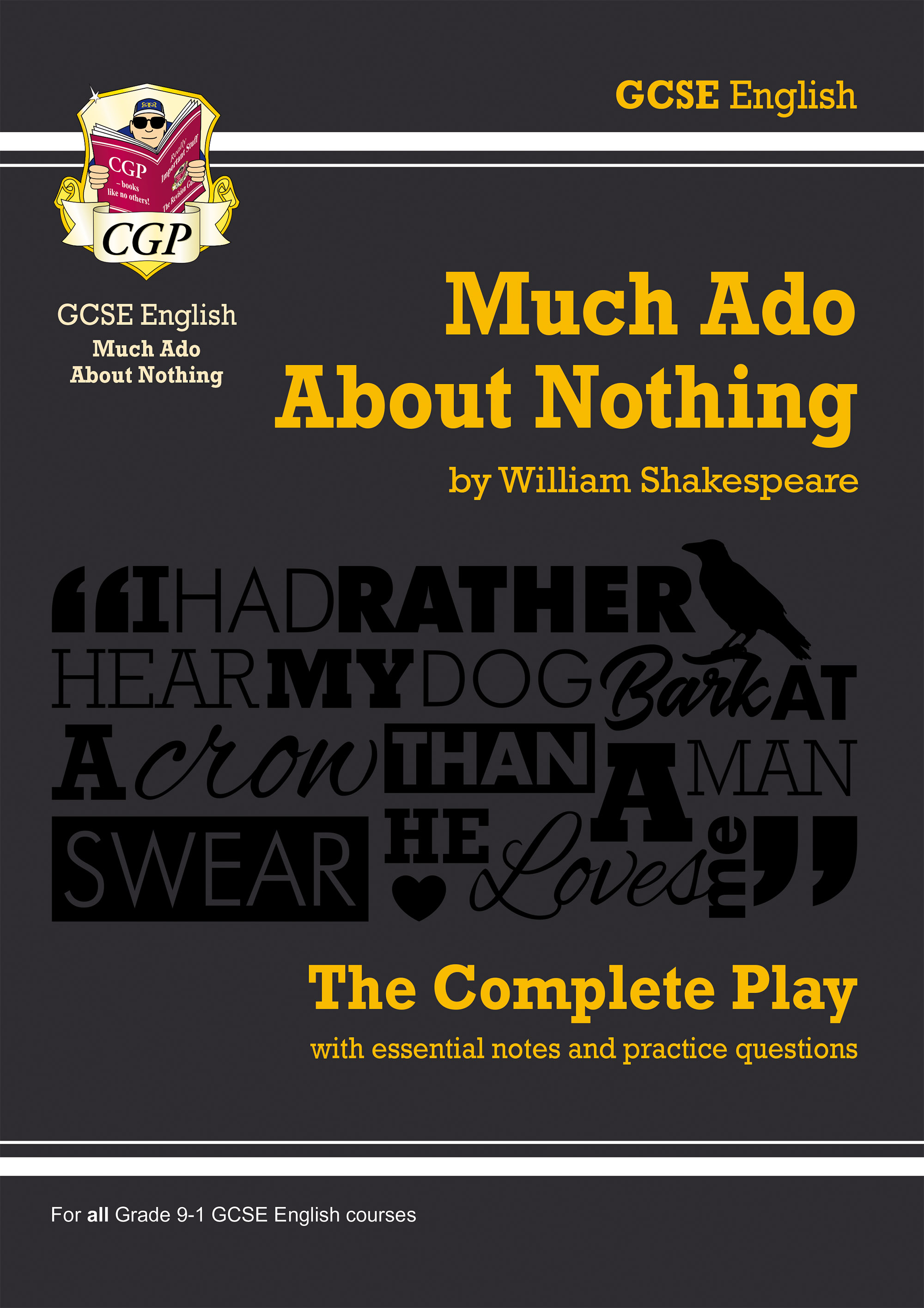 EPMA43DK - Grade 9-1 GCSE English Much Ado About Nothing - The Complete Play