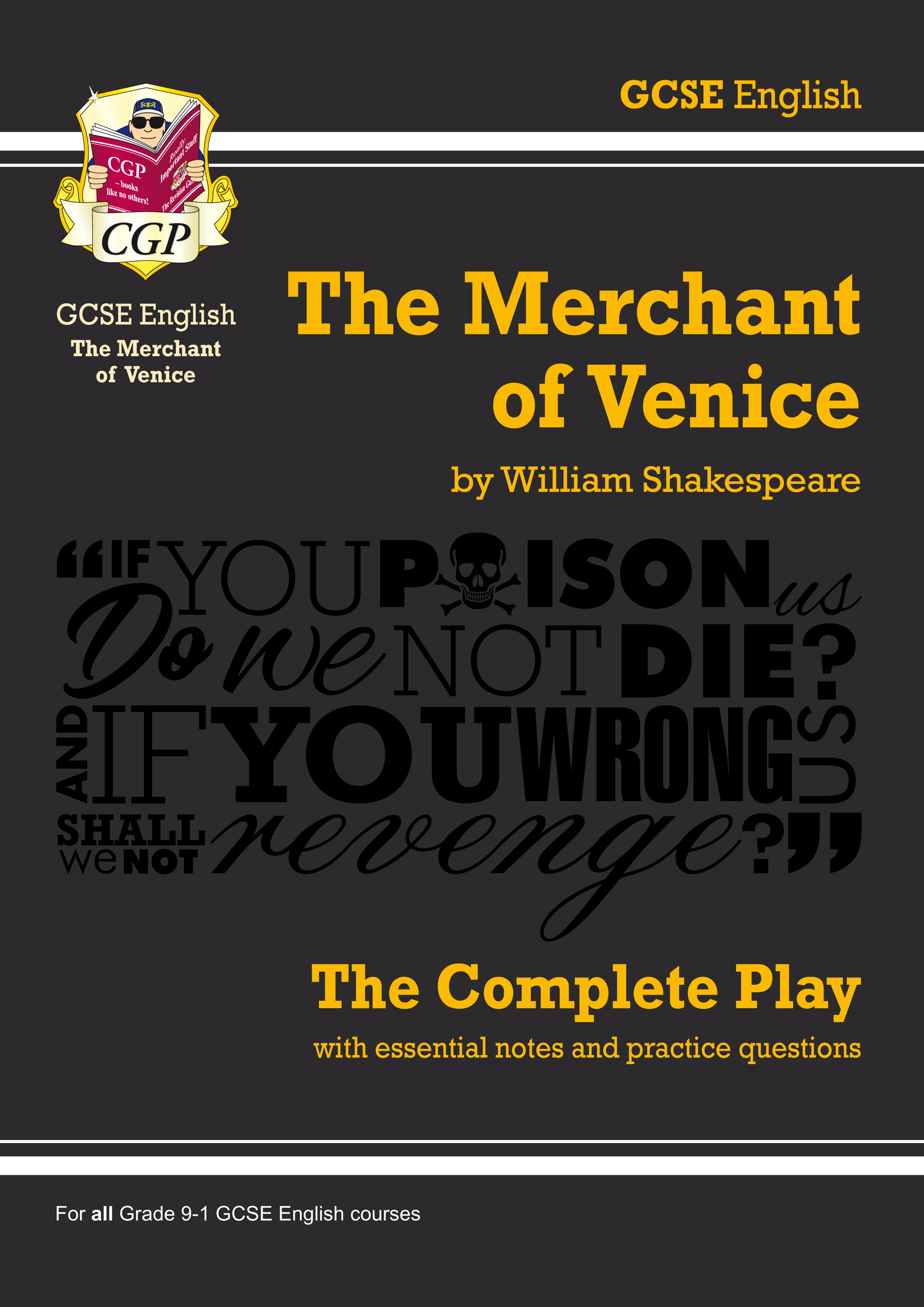 EPMV41 - Grade 9-1 GCSE English The Merchant of Venice - The Complete Play