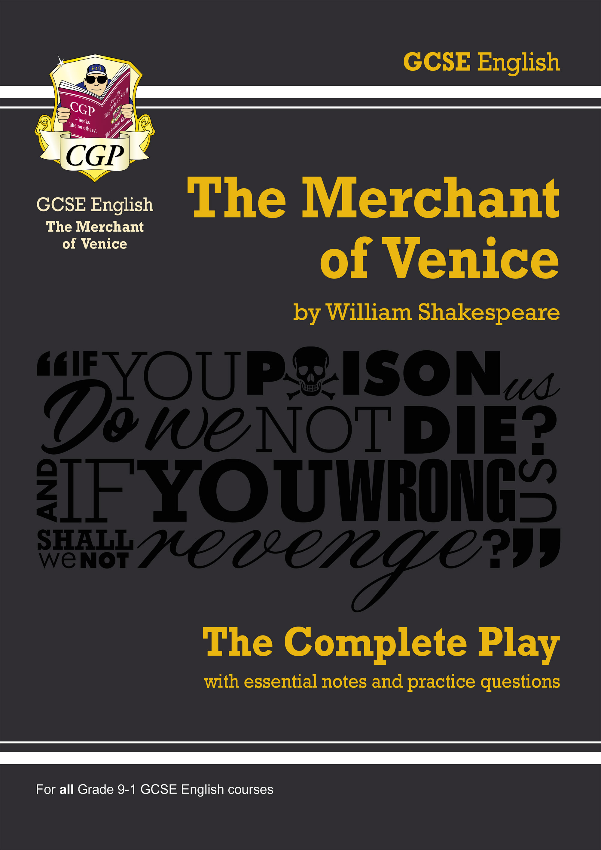 EPMV41DK - Grade 9-1 GCSE English The Merchant of Venice - The Complete Play