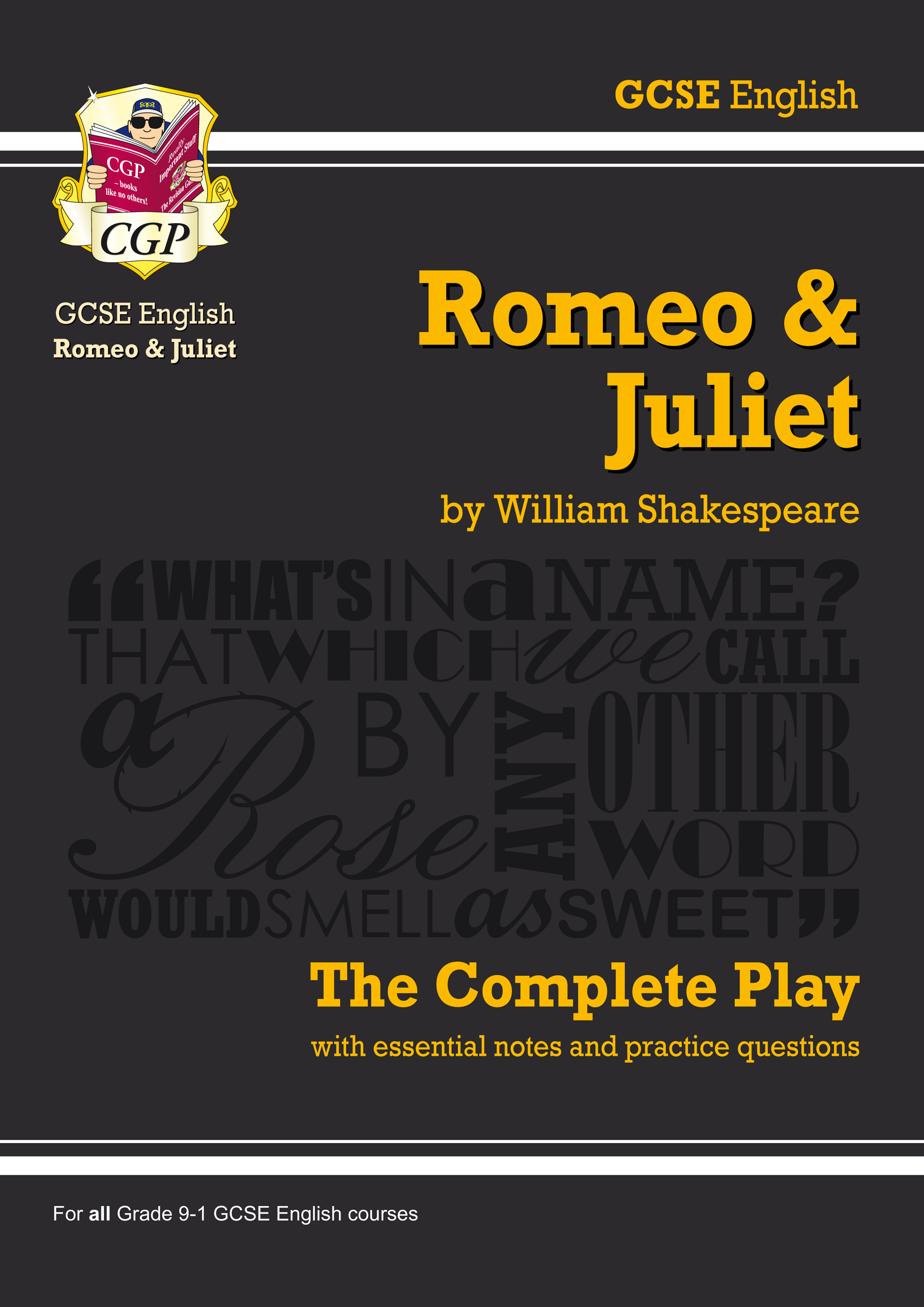EPR44 - Grade 9-1 GCSE English Romeo and Juliet - The Complete Play