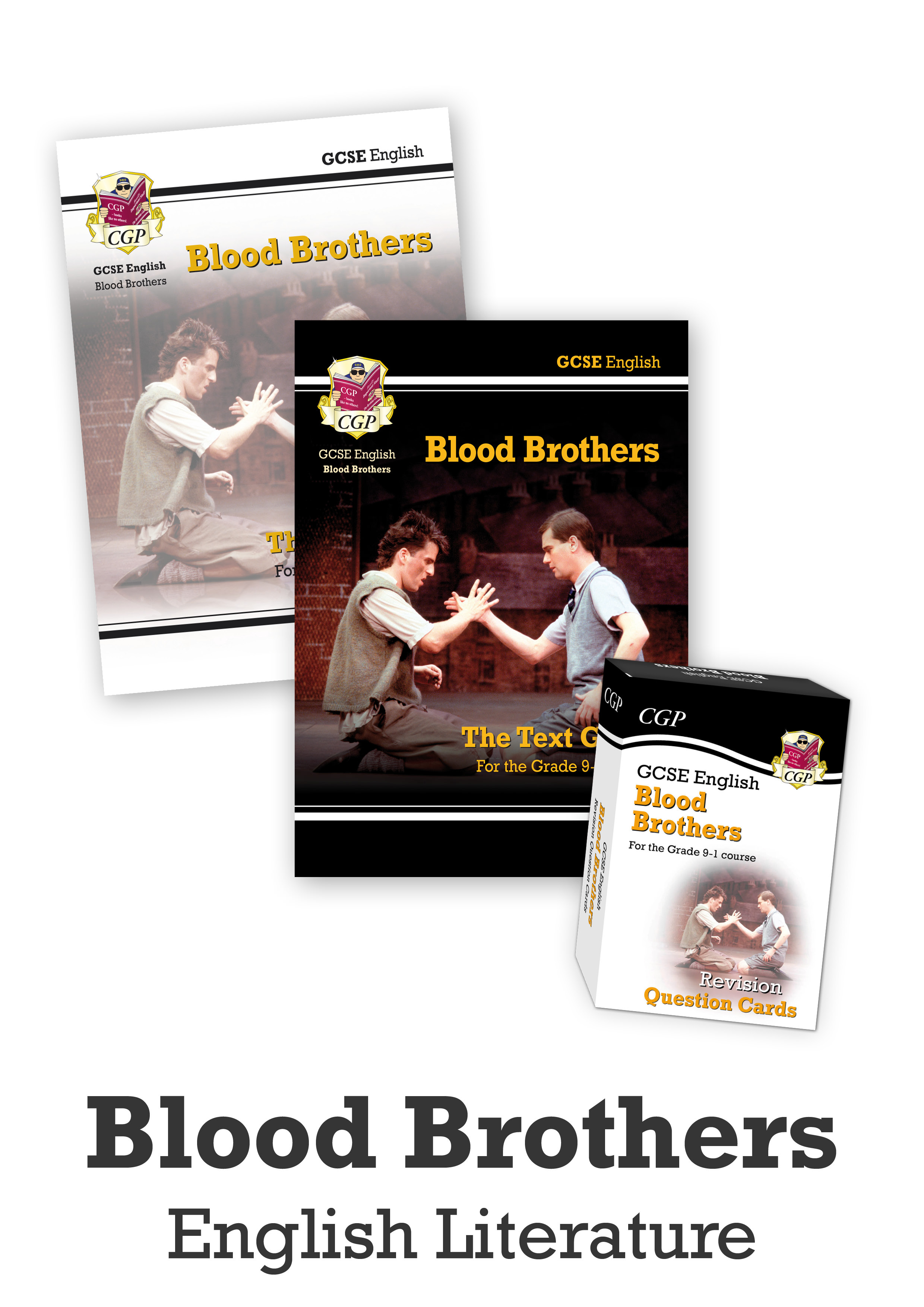 ETBBCUB41 - GCSE Home Learning Essentials Bundle: English Literature - Blood Brothers