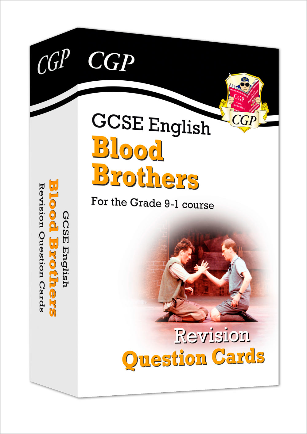 ETFBB41 - New Grade 9-1 GCSE English - Blood Brothers Revision Question Cards