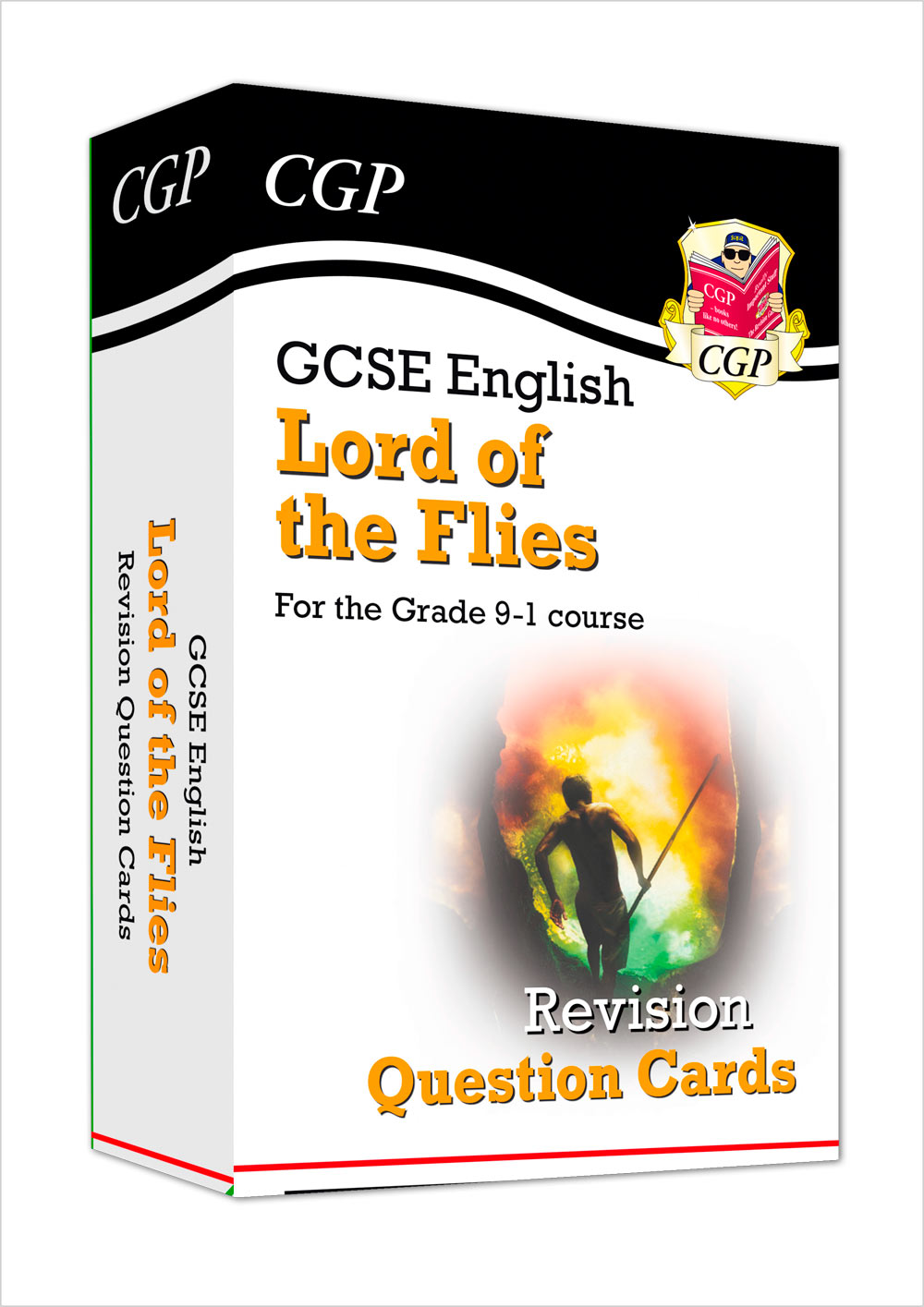 ETFL41 - New Grade 9-1 GCSE English - Lord of the Flies Revision Question Cards
