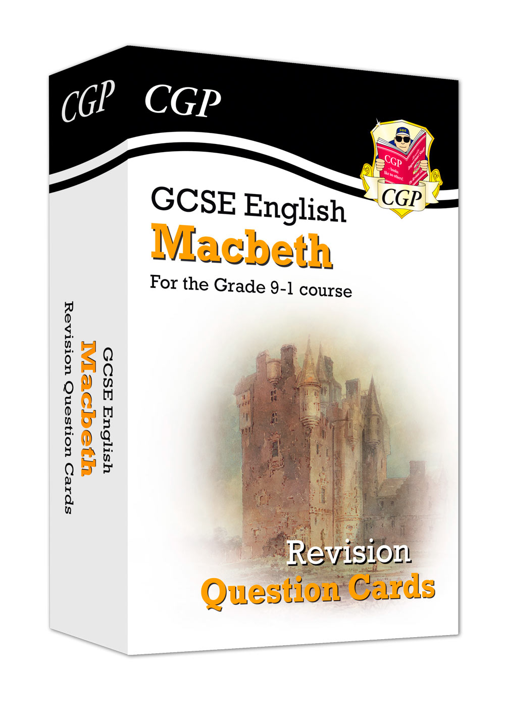 ETFM41 - New Grade 9-1 GCSE English Shakespeare - Macbeth Revision Question Cards