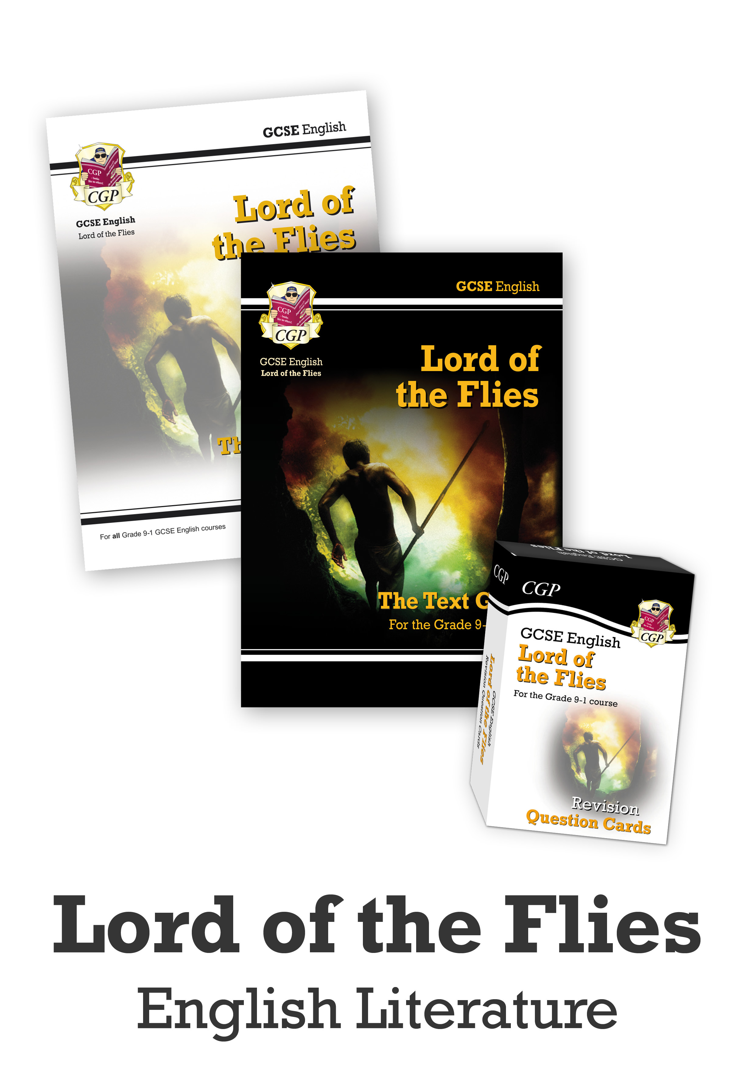 ETLCUB41 - GCSE Home Learning Essentials Bundle: English Literature - Lord of the Flies