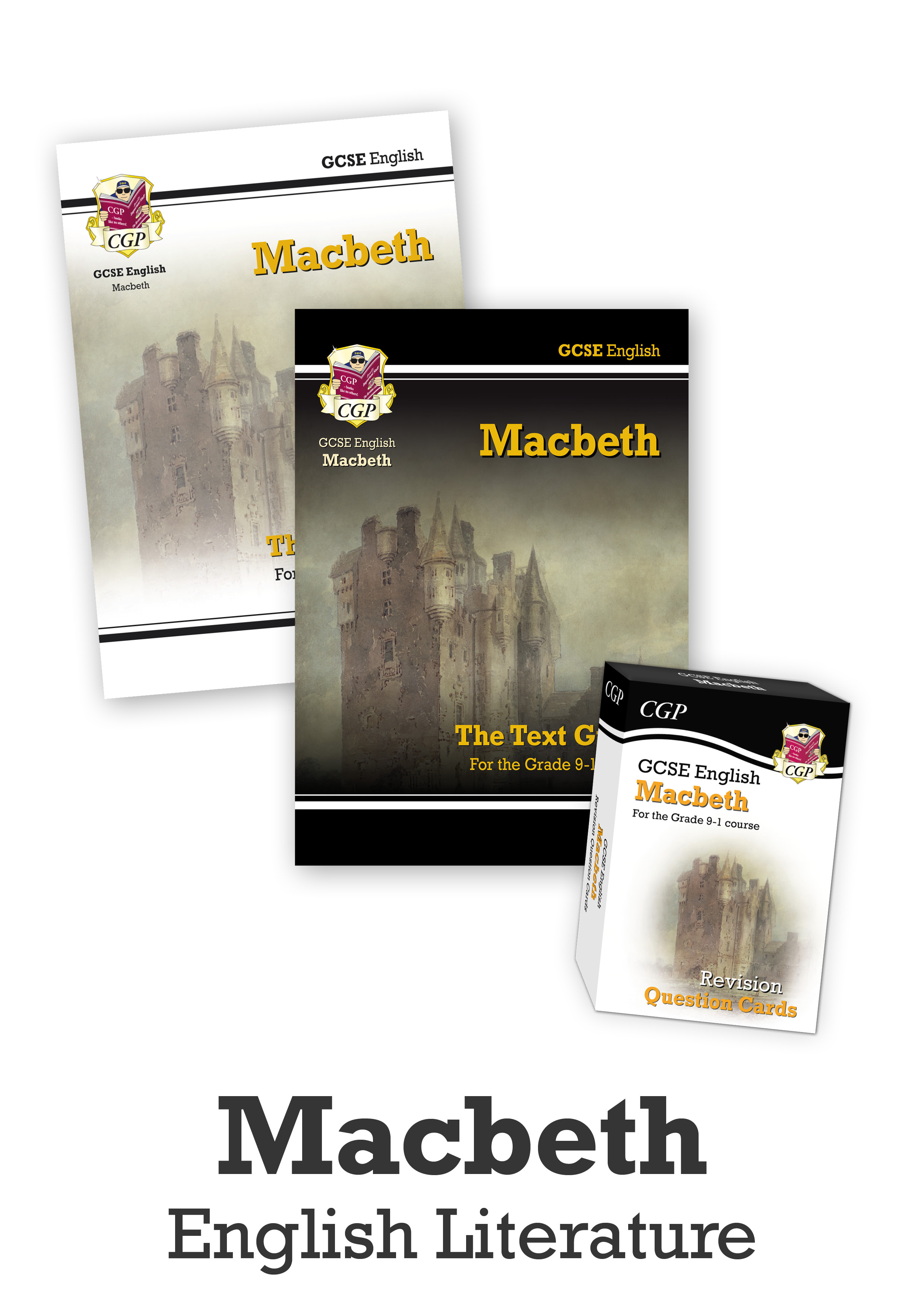 ETMCUB41 - GCSE Catch-Up Revision Essentials Bundle: English Literature - Macbeth