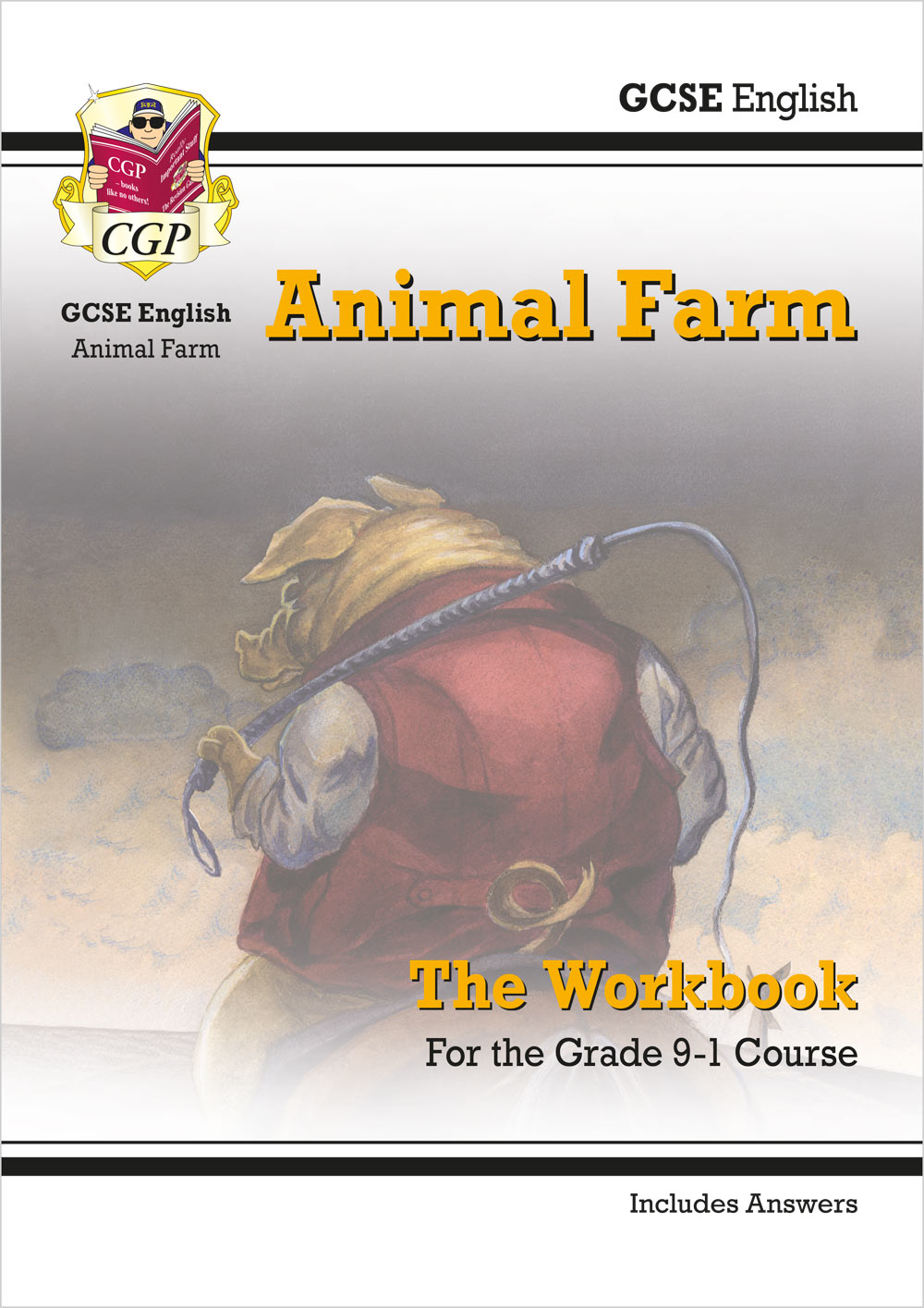 ETWA41 - New Grade 9-1 GCSE English - Animal Farm Workbook (includes Answers)