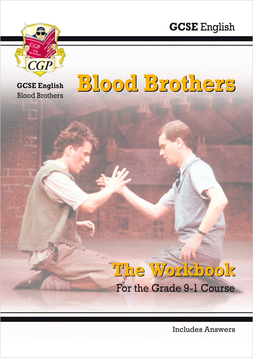 ETWBB41 - New Grade 9-1 GCSE English - Blood Brothers Workbook (includes Answers)