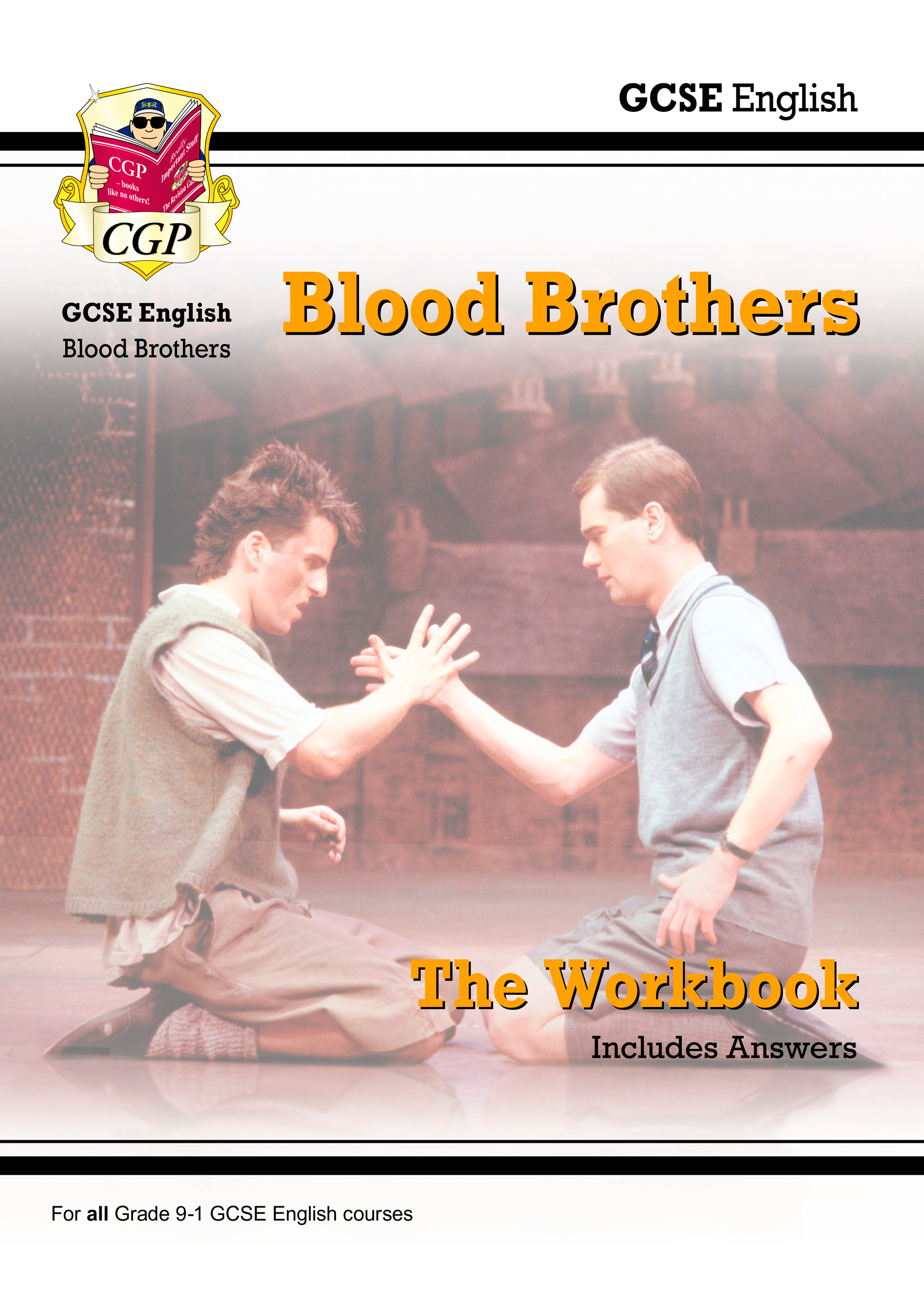 ETWBB41DK - New Grade 9-1 GCSE English - Blood Brothers Workbook (includes Answers)