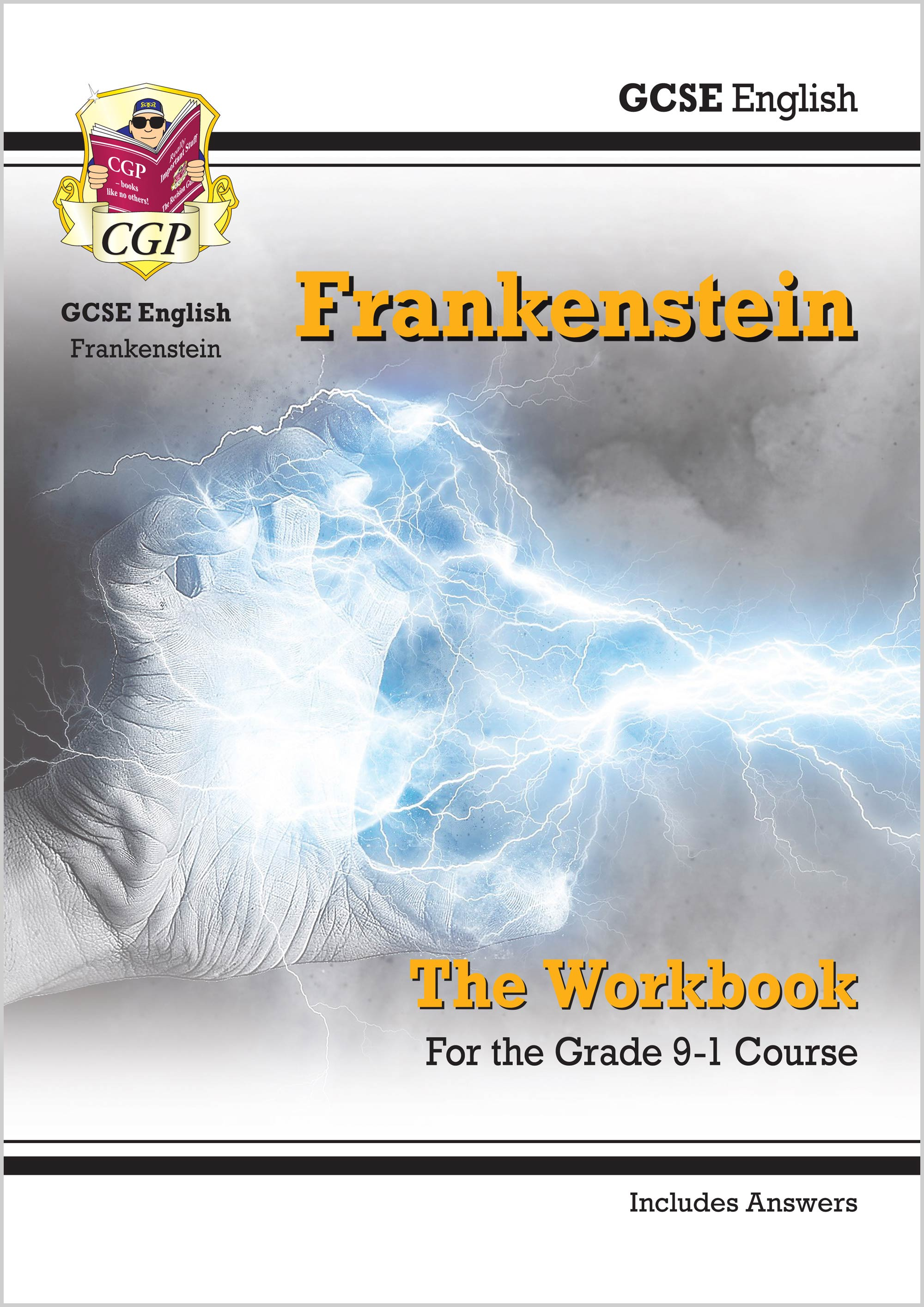 ETWF41 - New Grade 9-1 GCSE English - Frankenstein Workbook (includes Answers)