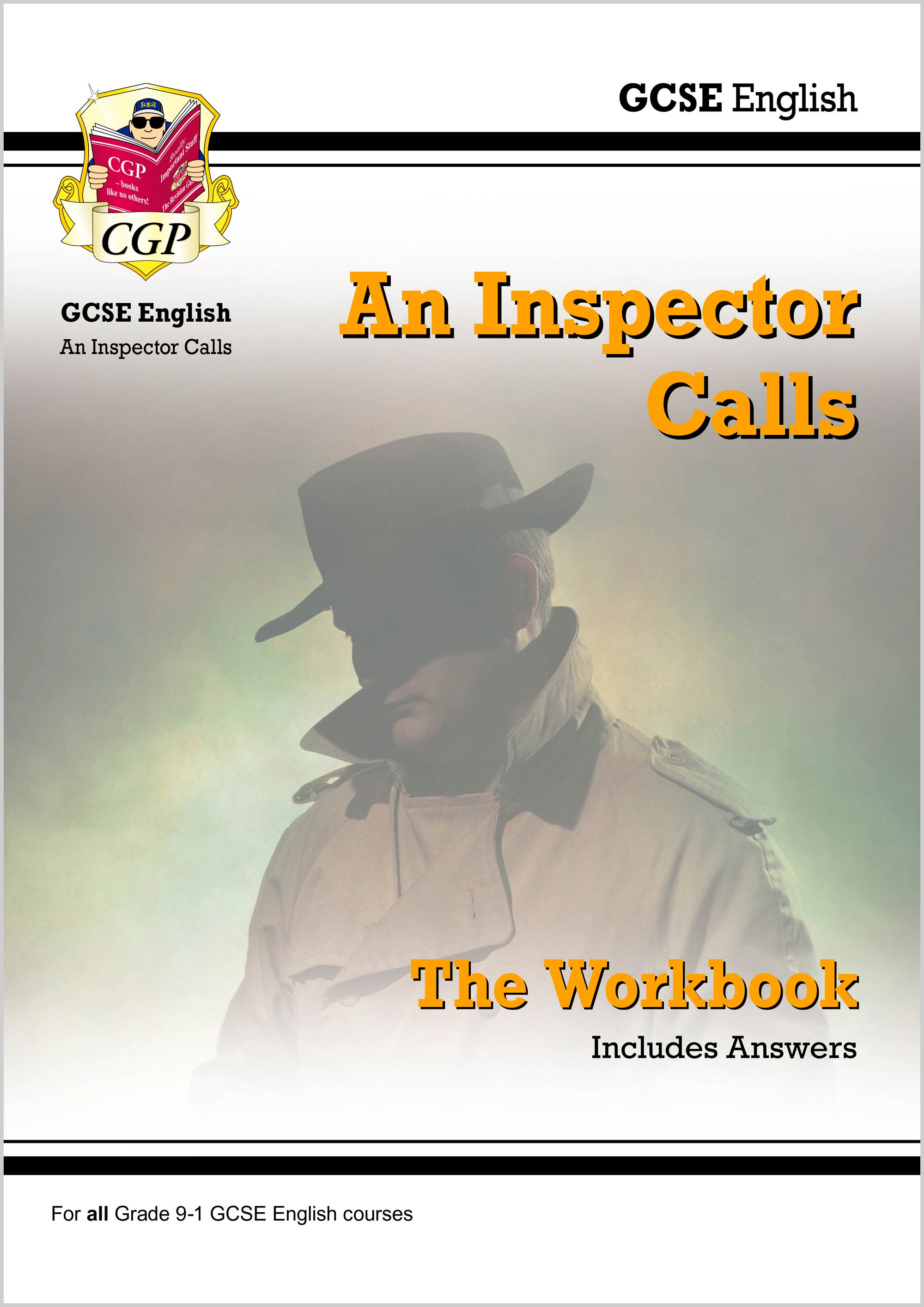 ETWI41DK - New Grade 9-1 GCSE English - An Inspector Calls Workbook (includes Answers)