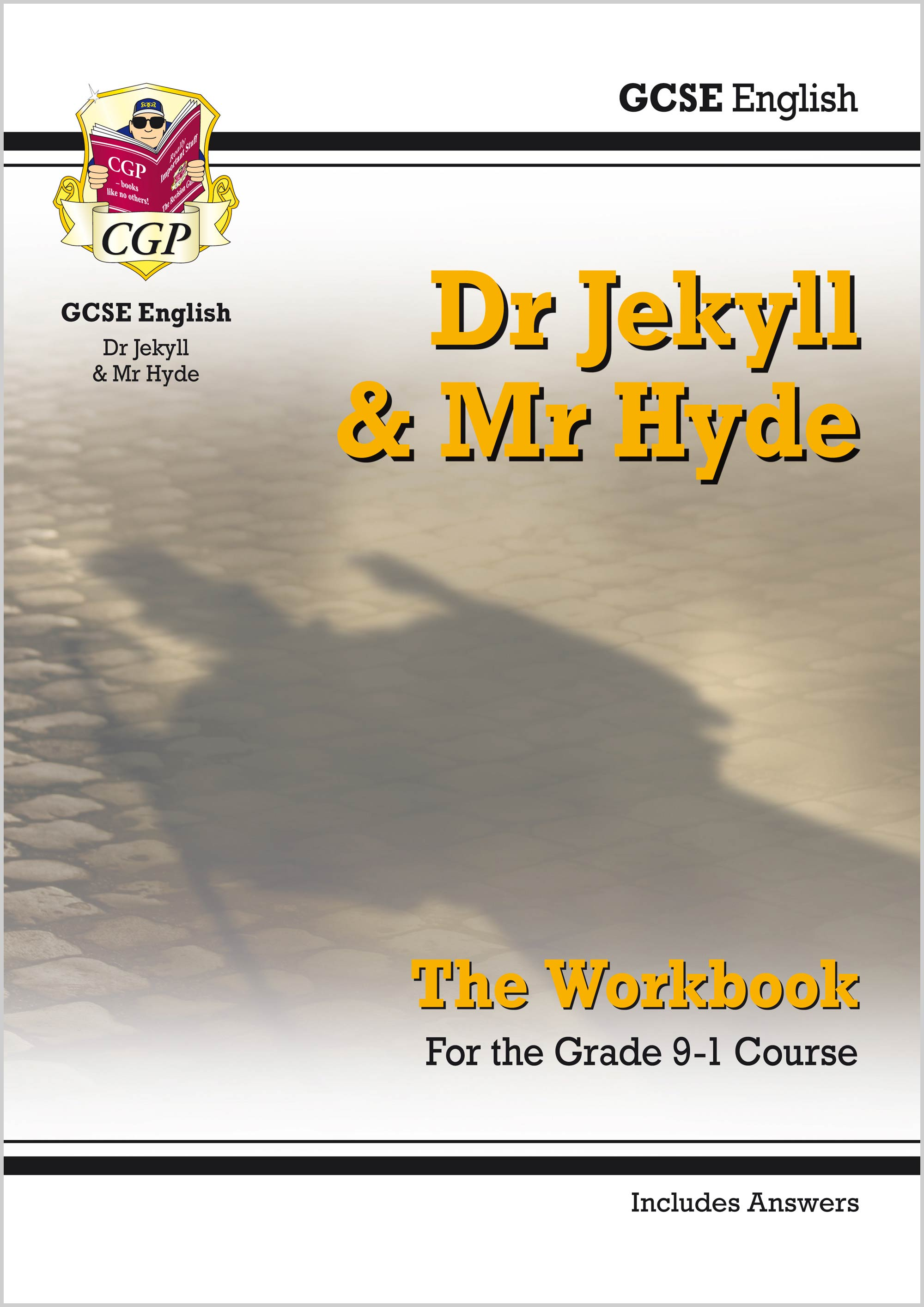 ETWJH41 - New Grade 9-1 GCSE English - Dr Jekyll and Mr Hyde Workbook (includes Answers)