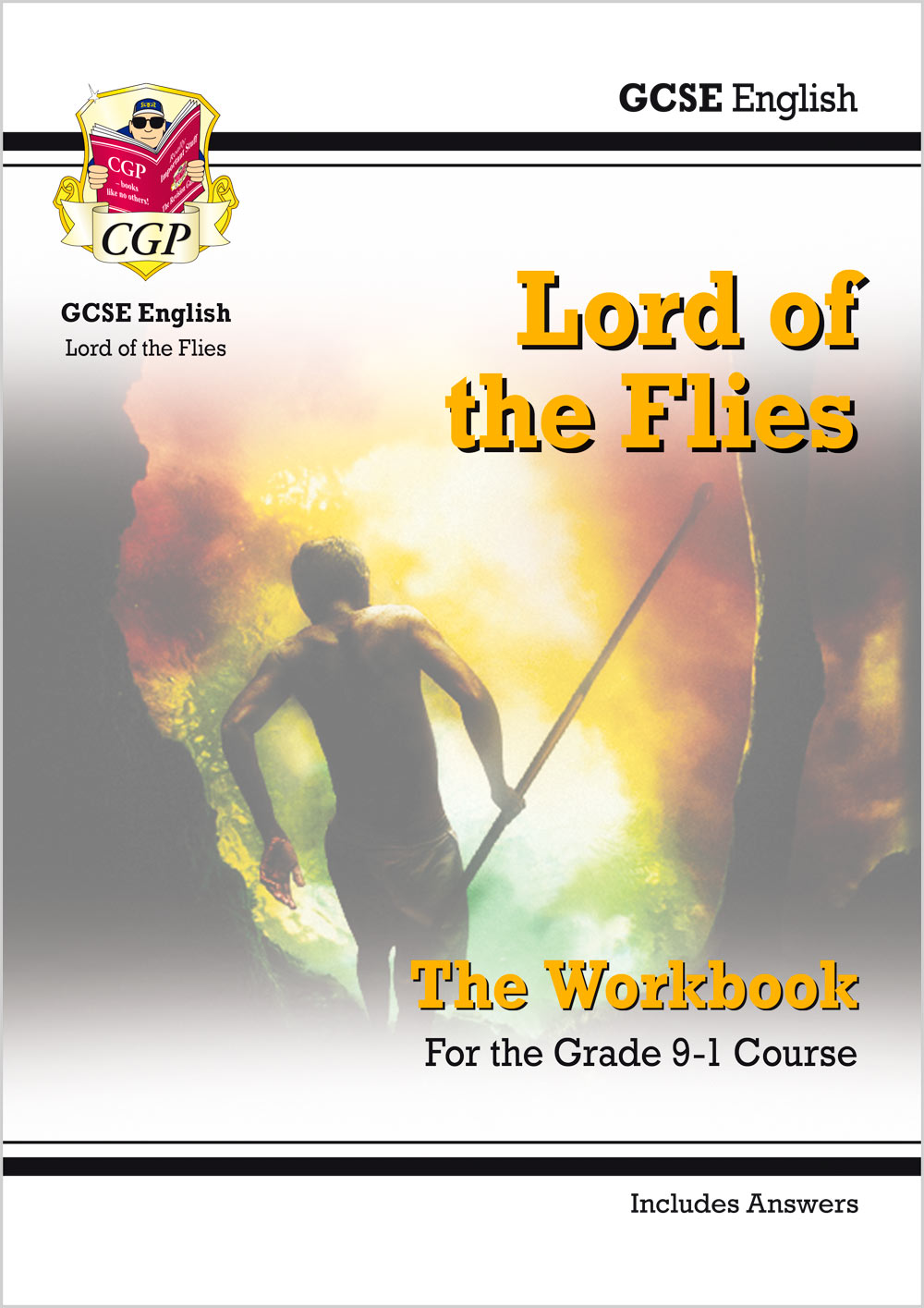 ETWL41 - New Grade 9-1 GCSE English - Lord of the Flies Workbook (includes Answers)