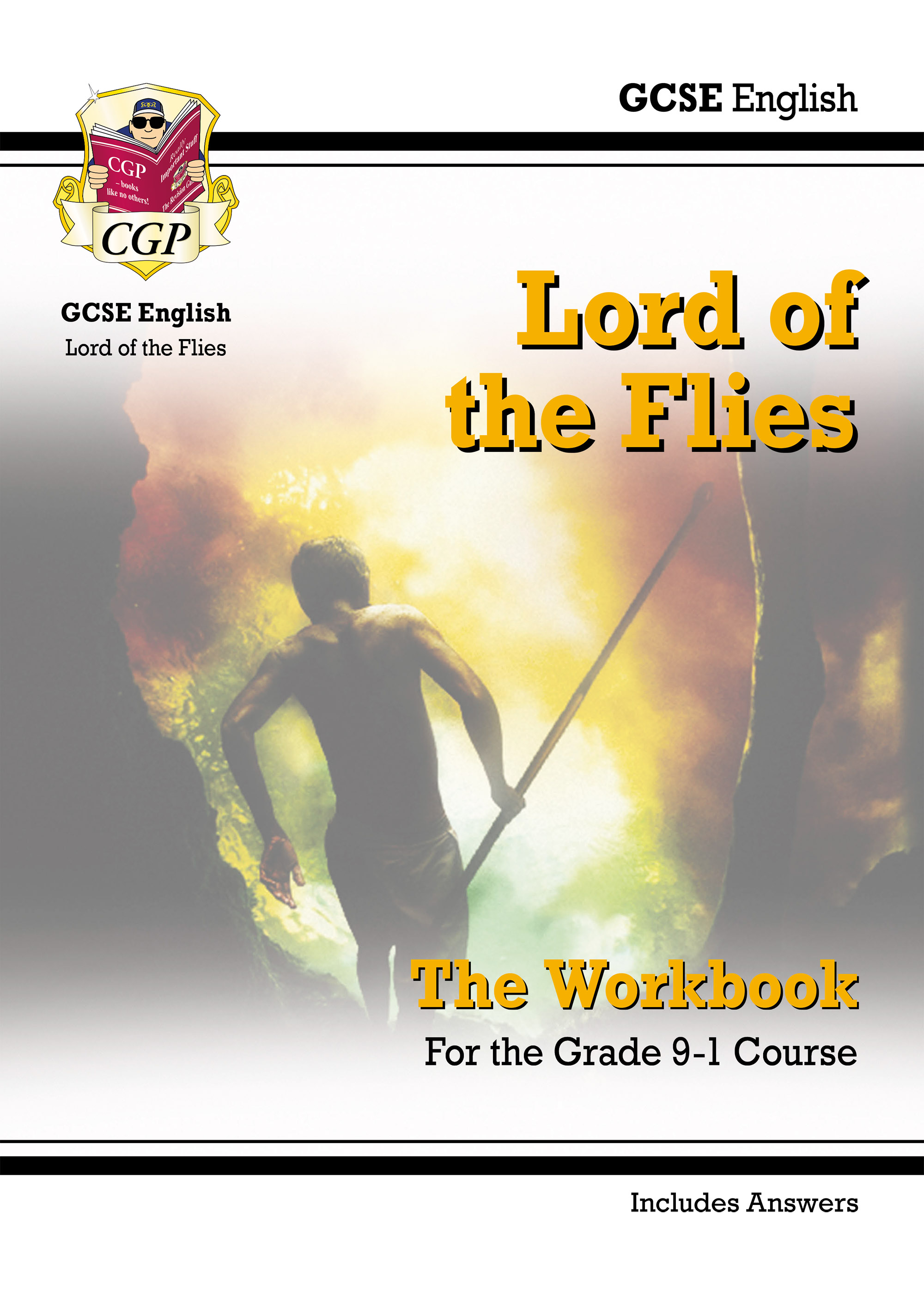 ETWL41DK - New Grade 9-1 GCSE English - Lord of the Flies Workbook (includes Answers)