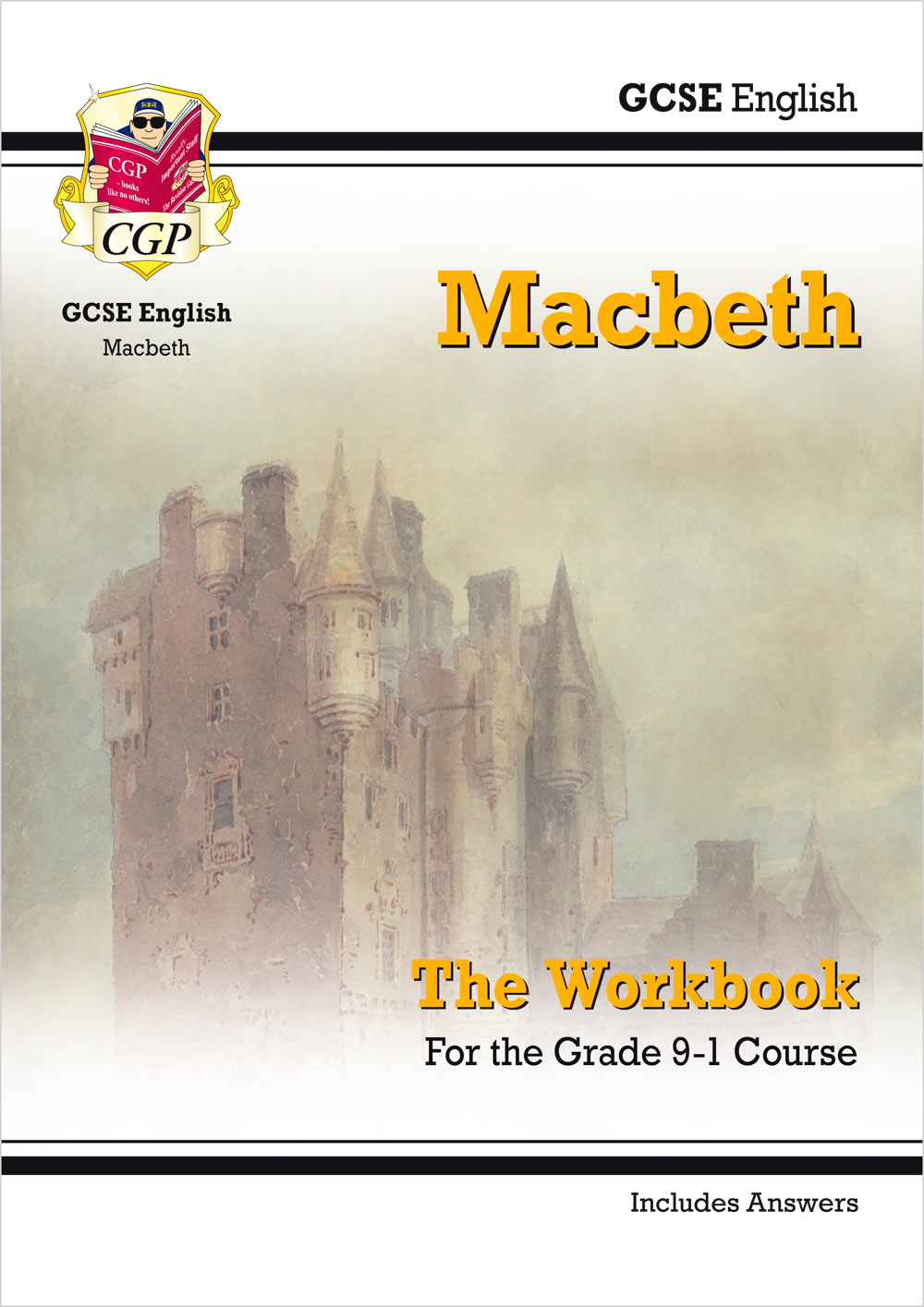 ETWM41 - New Grade 9-1 GCSE English Shakespeare - Macbeth Workbook (includes Answers)