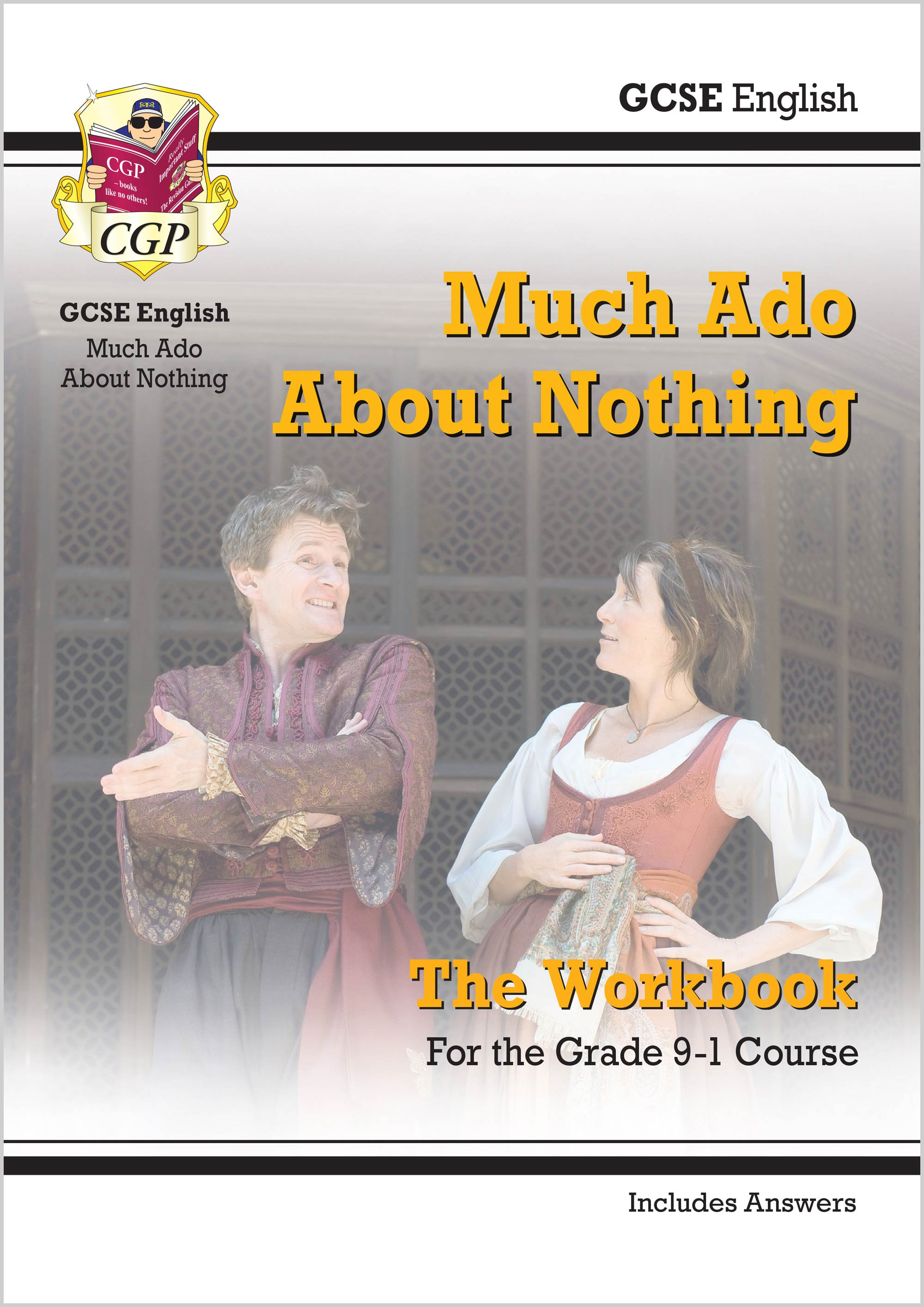 ETWMA41 - New Grade 9-1 GCSE English Shakespeare - Much Ado About Nothing Workbook (includes Answers