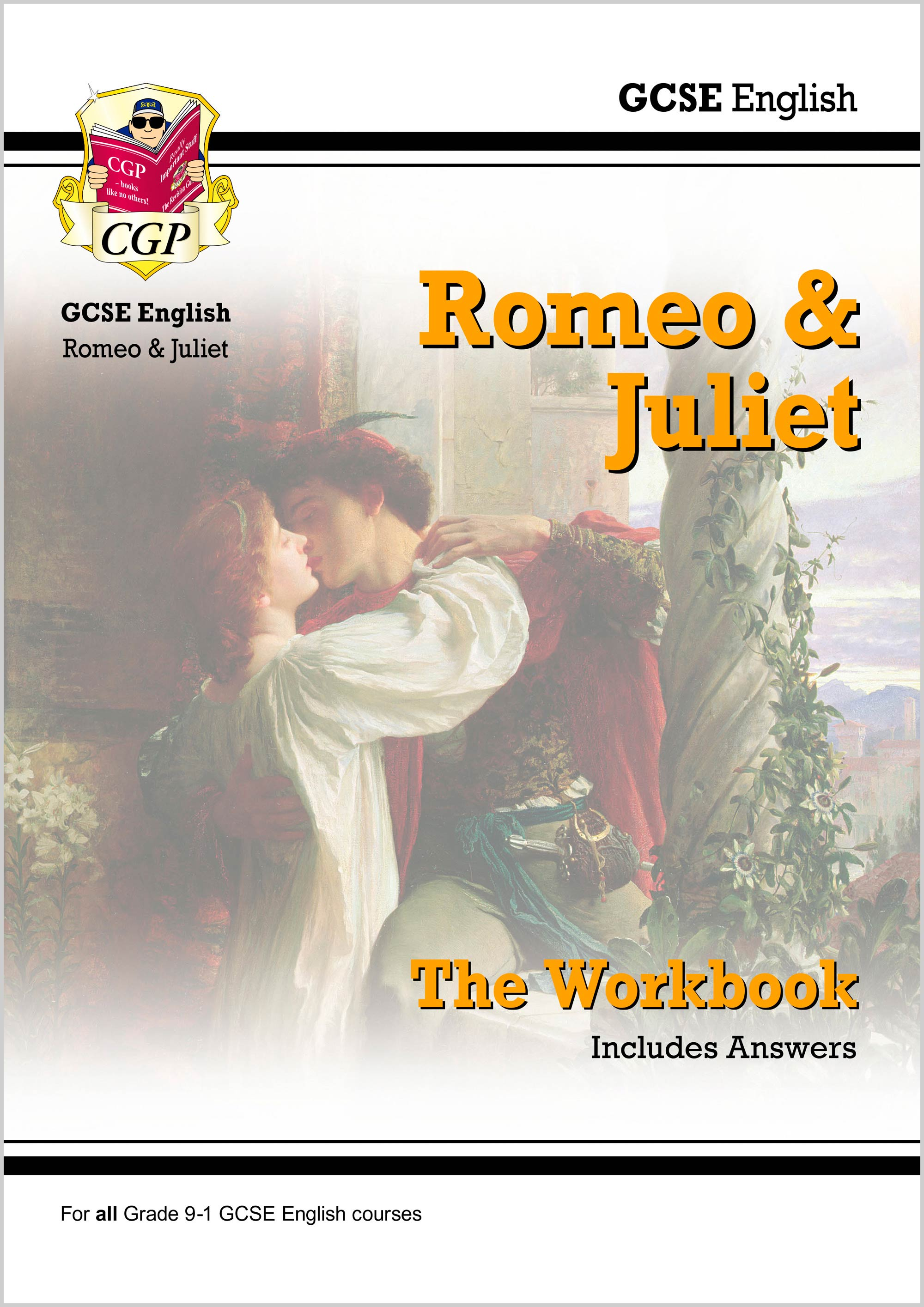 ETWR41DK - New Grade 9-1 GCSE English Shakespeare - Romeo & Juliet Workbook (includes Answers)