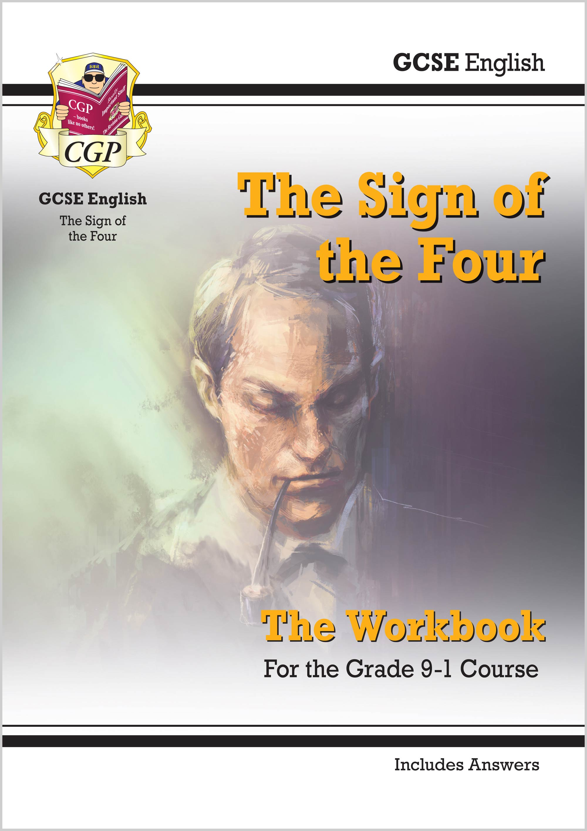 ETWSF41 - Grade 9-1 GCSE English - The Sign of the Four Workbook (includes Answers)