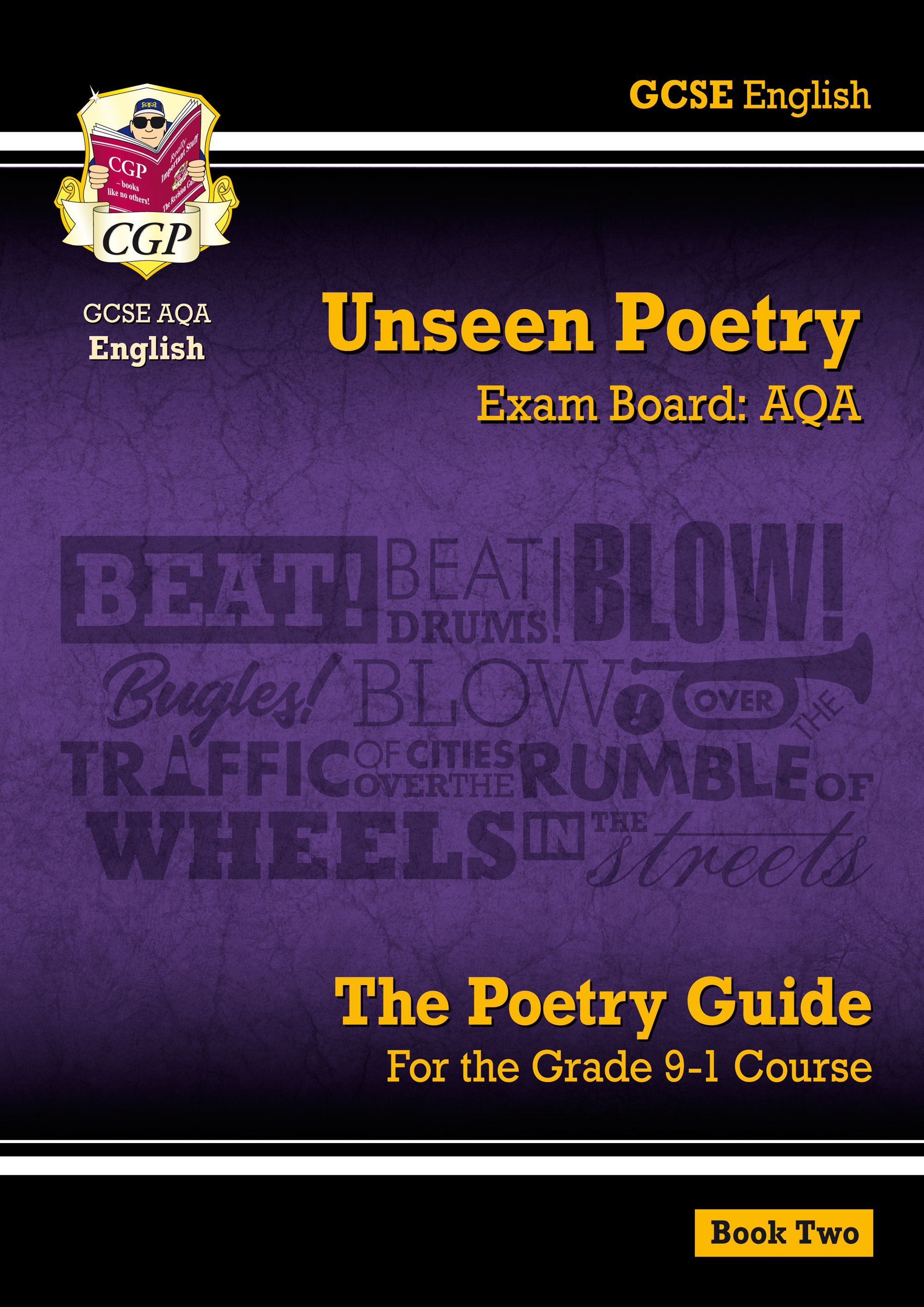EUAR241 - Grade 9-1 GCSE English Literature AQA Unseen Poetry Guide - Book 2