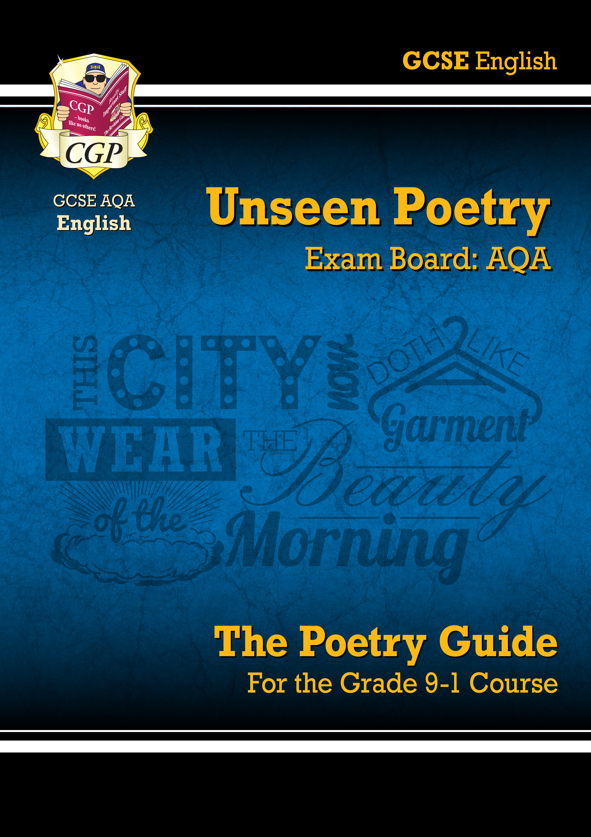 EUAR42 - New Grade 9-1 GCSE English Literature AQA Unseen Poetry Guide - Book 1