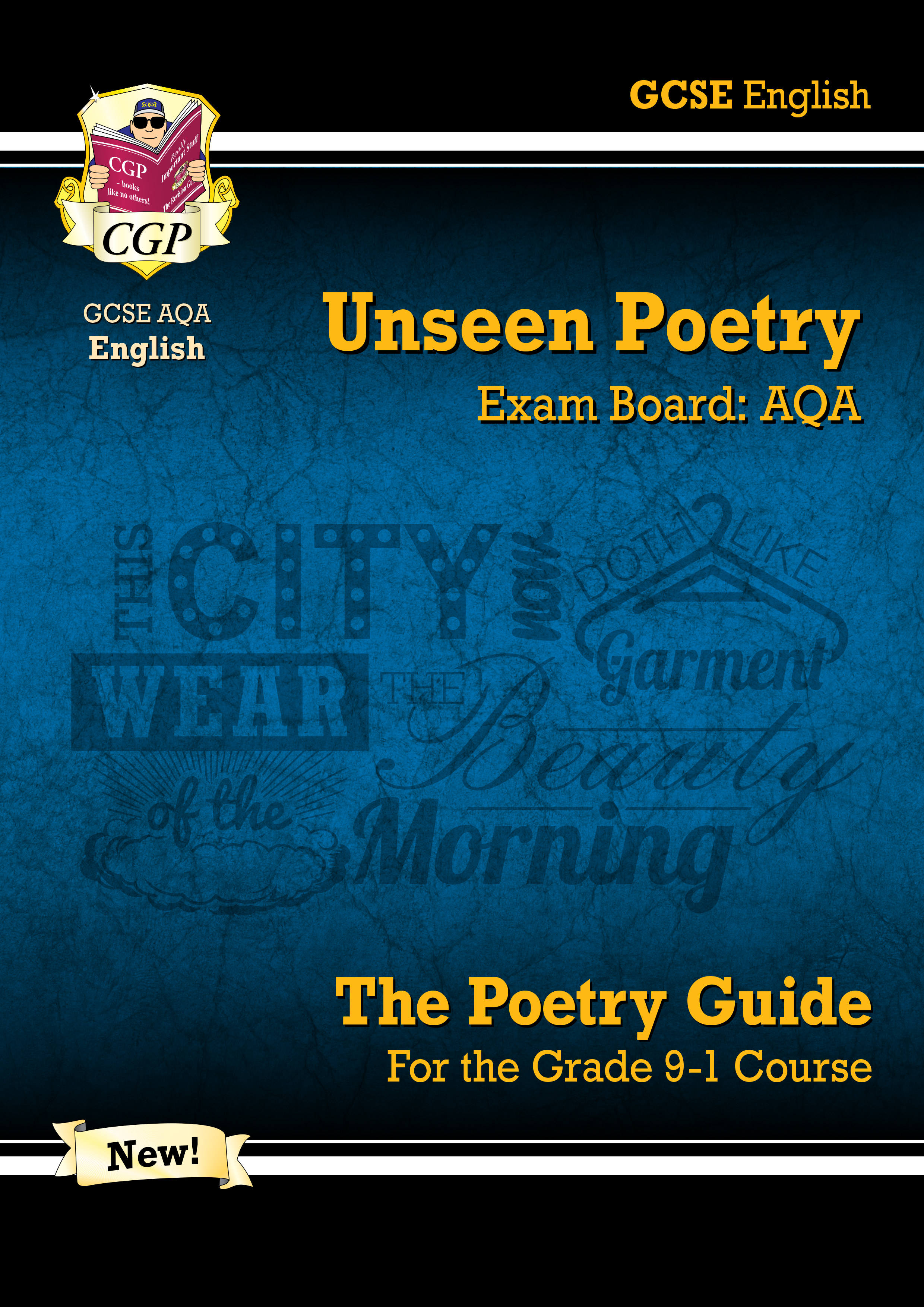 EUAR42DK - New Grade 9-1 GCSE English Literature AQA Unseen Poetry Guide - Book 1