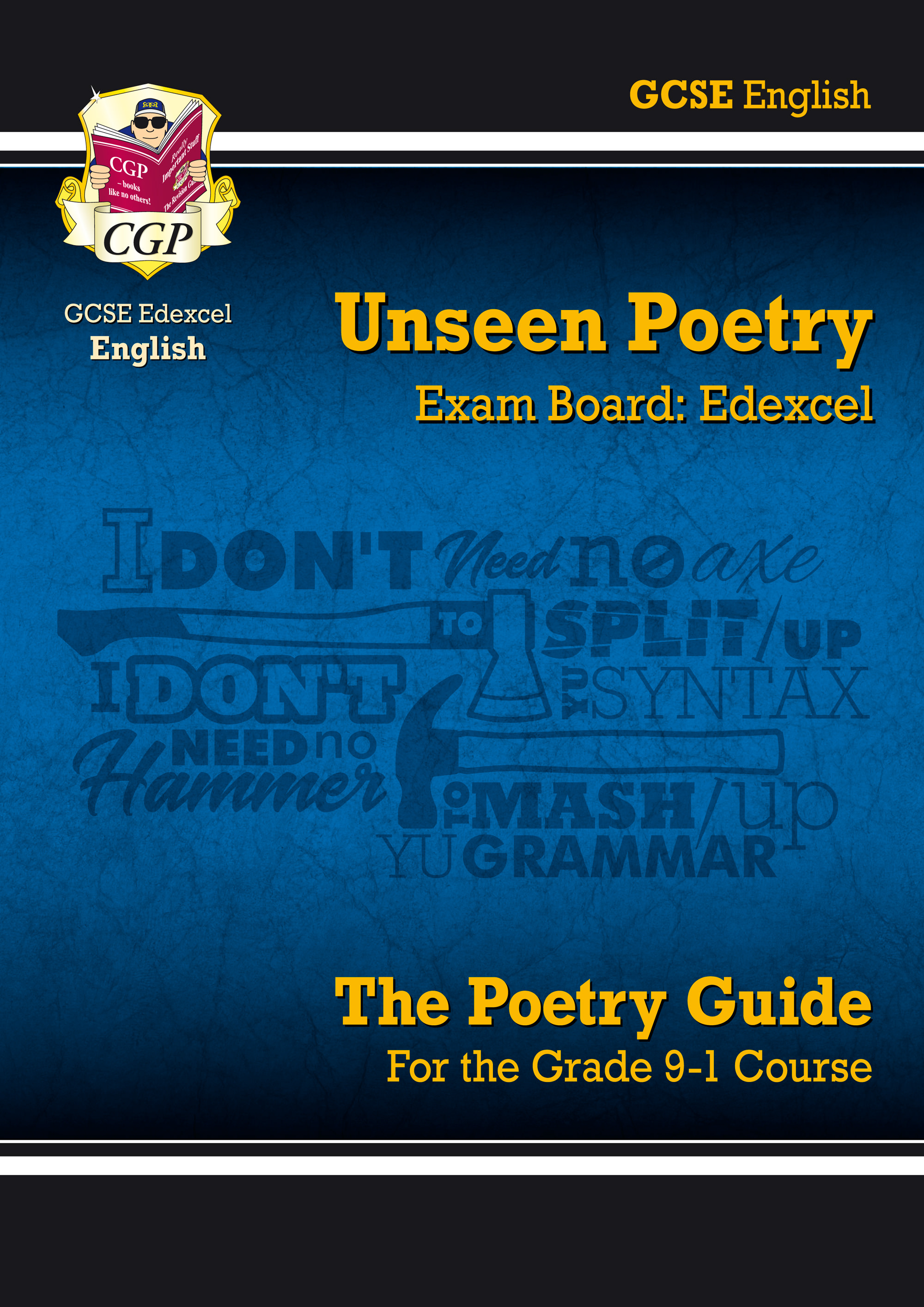 EUER41 - New Grade 9-1 GCSE English Literature Edexcel Unseen Poetry Guide
