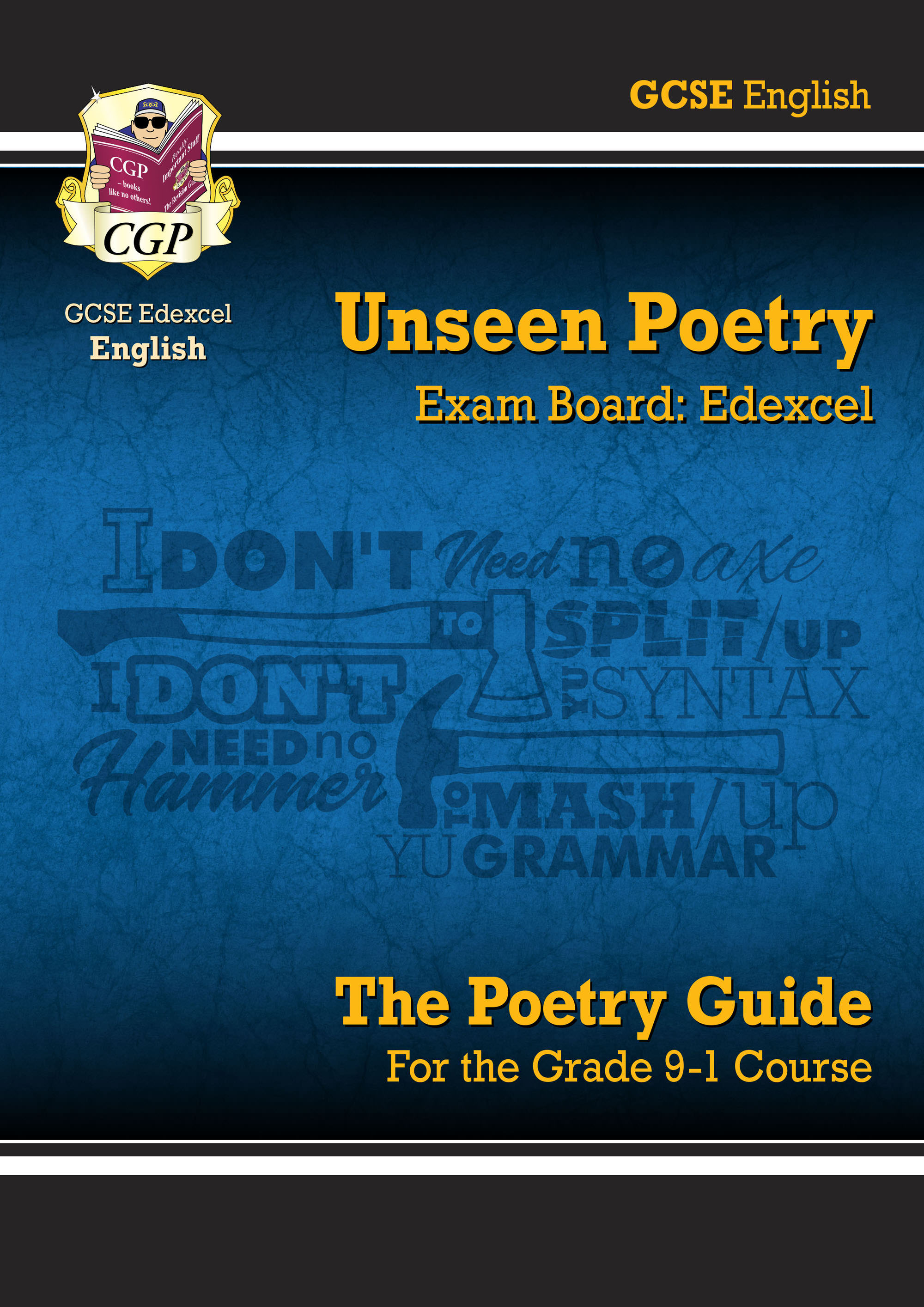 EUER41DK - New Grade 9-1 GCSE English Literature Edexcel Unseen Poetry Guide