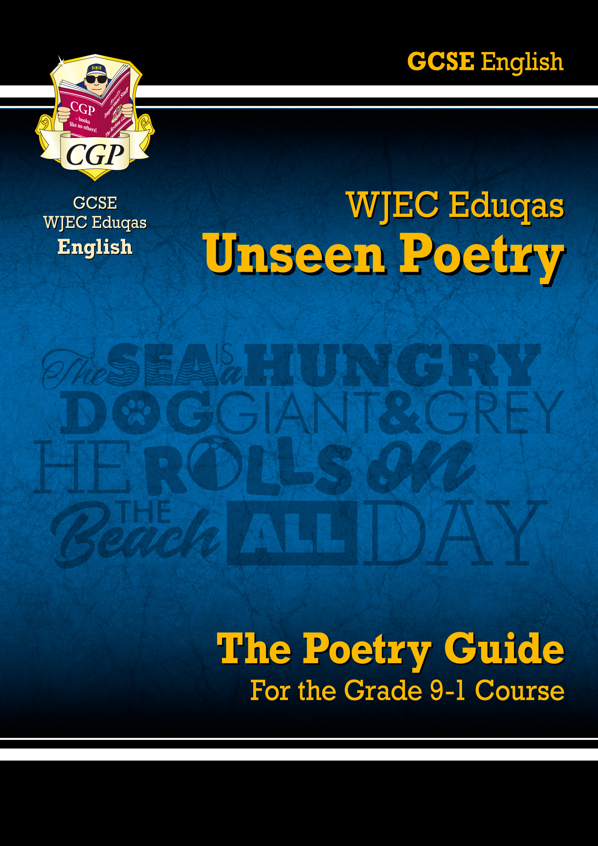 EUWR41 - New Grade 9-1 GCSE English Literature WJEC Eduqas Unseen Poetry Guide