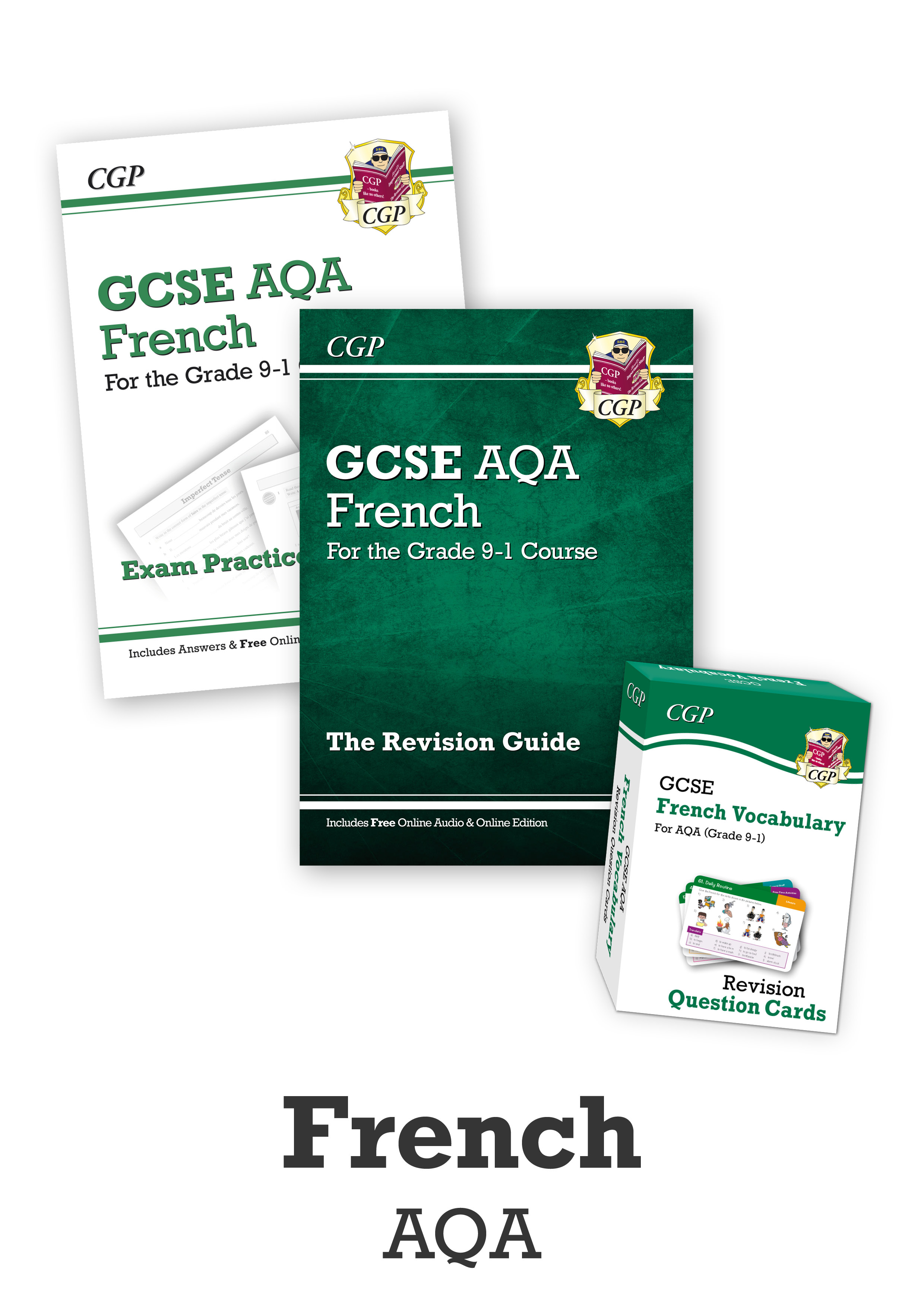 FACUB41 - GCSE Essentials Bundle: AQA French