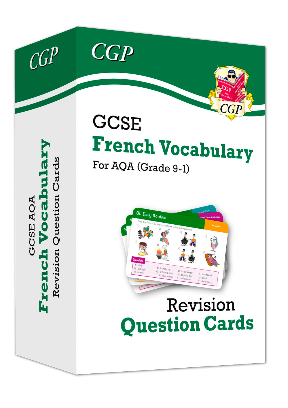 FAVF41 - New Grade 9-1 GCSE AQA French: Vocabulary Revision Question Cards