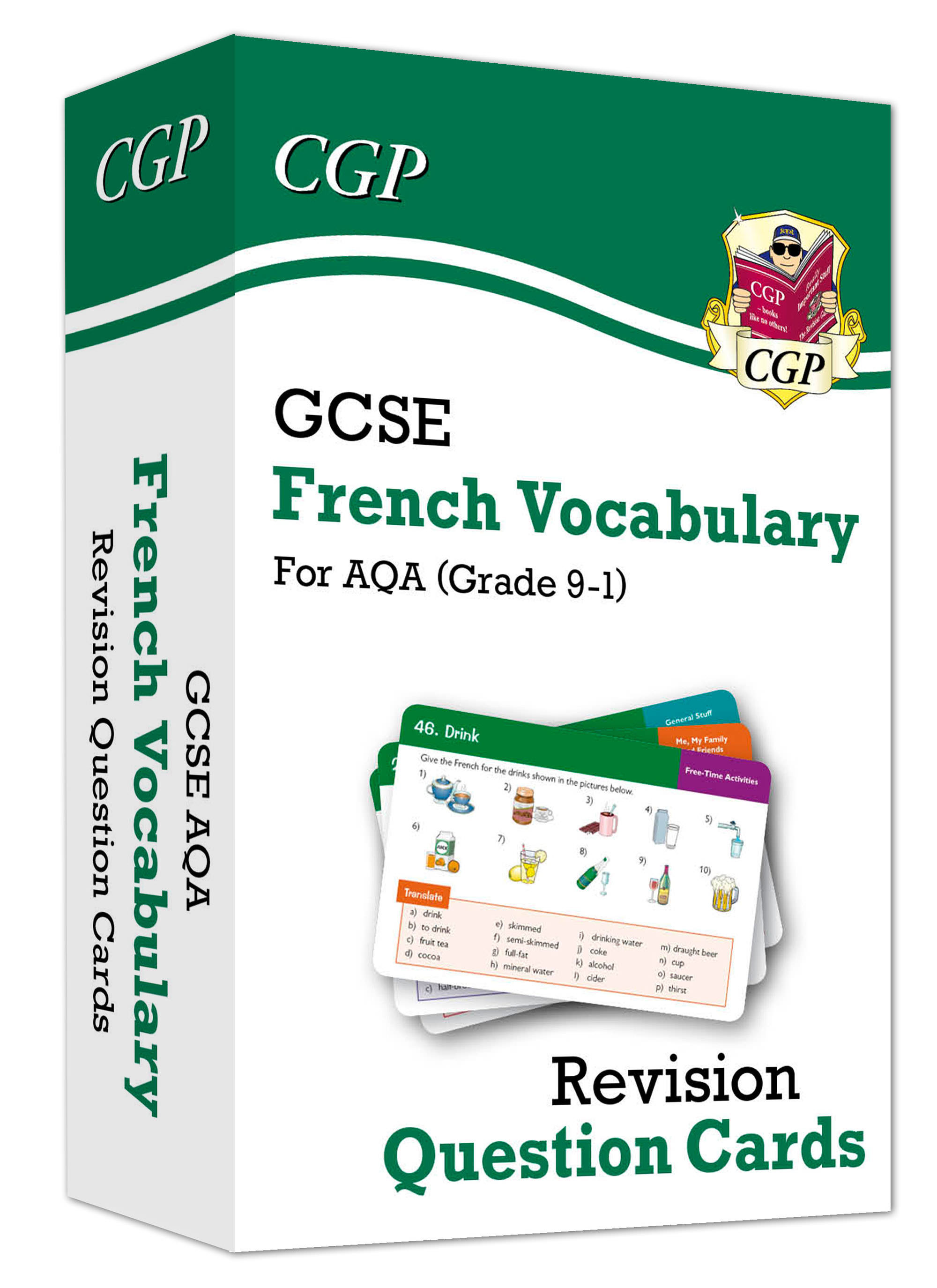 FAVF41D - New Grade 9-1 GCSE AQA French: Vocabulary Revision Question Cards Online Edition