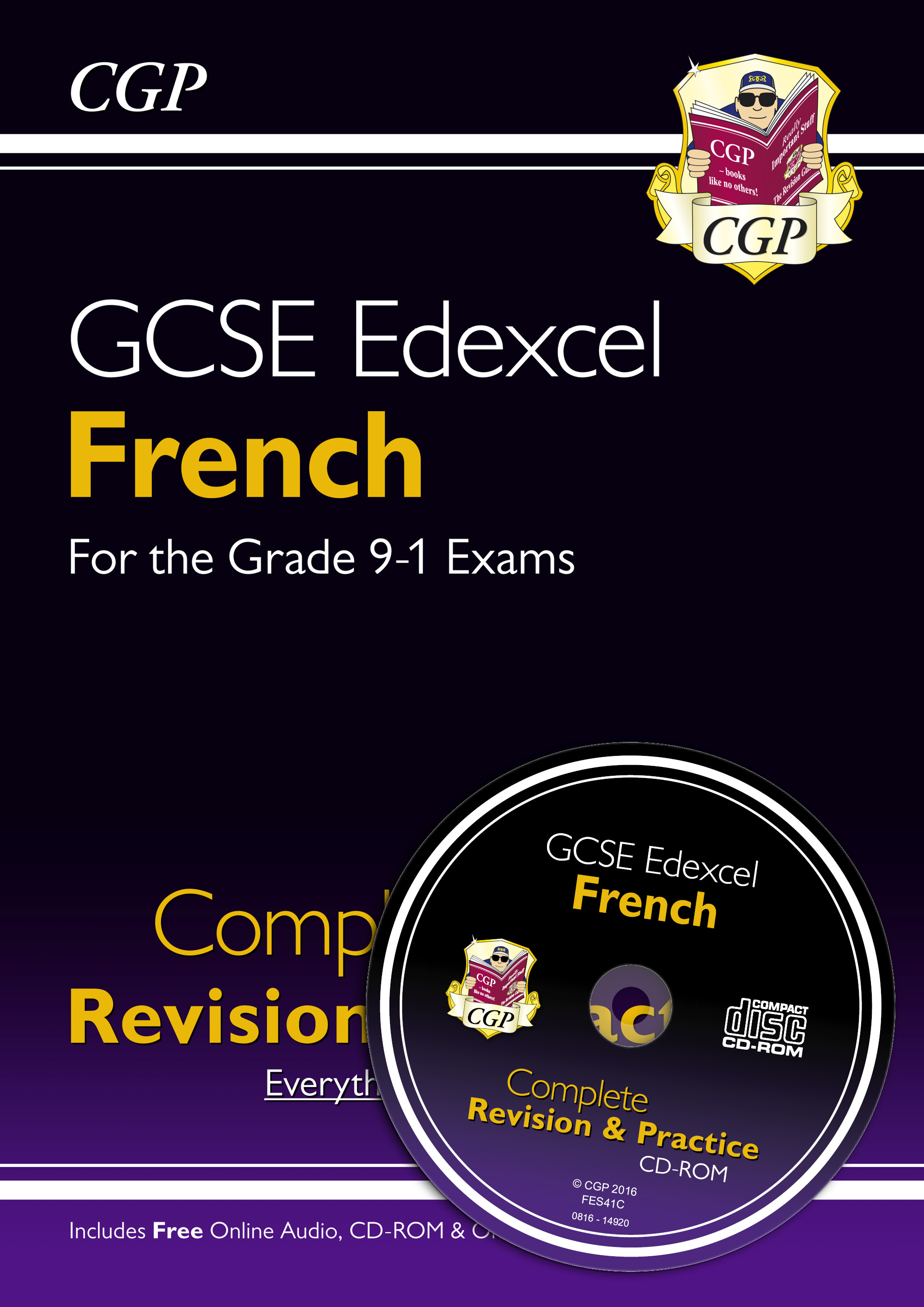 FES41 - New GCSE French Edexcel Complete Revision & Practice (with CD & Online Edition) - Grade 9-1