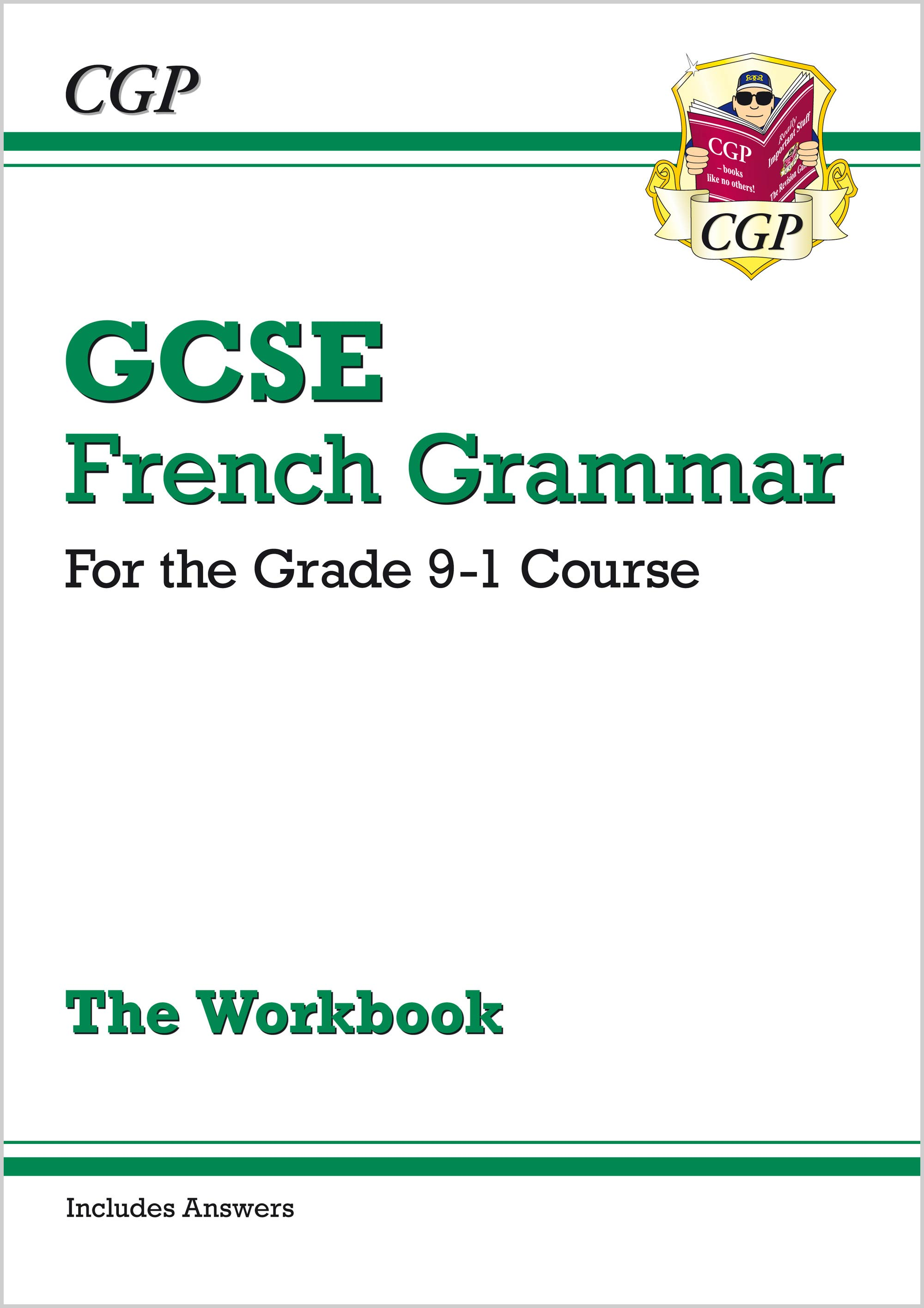 FGW41 - New GCSE French Grammar Workbook - for the Grade 9-1 Course (includes Answers)