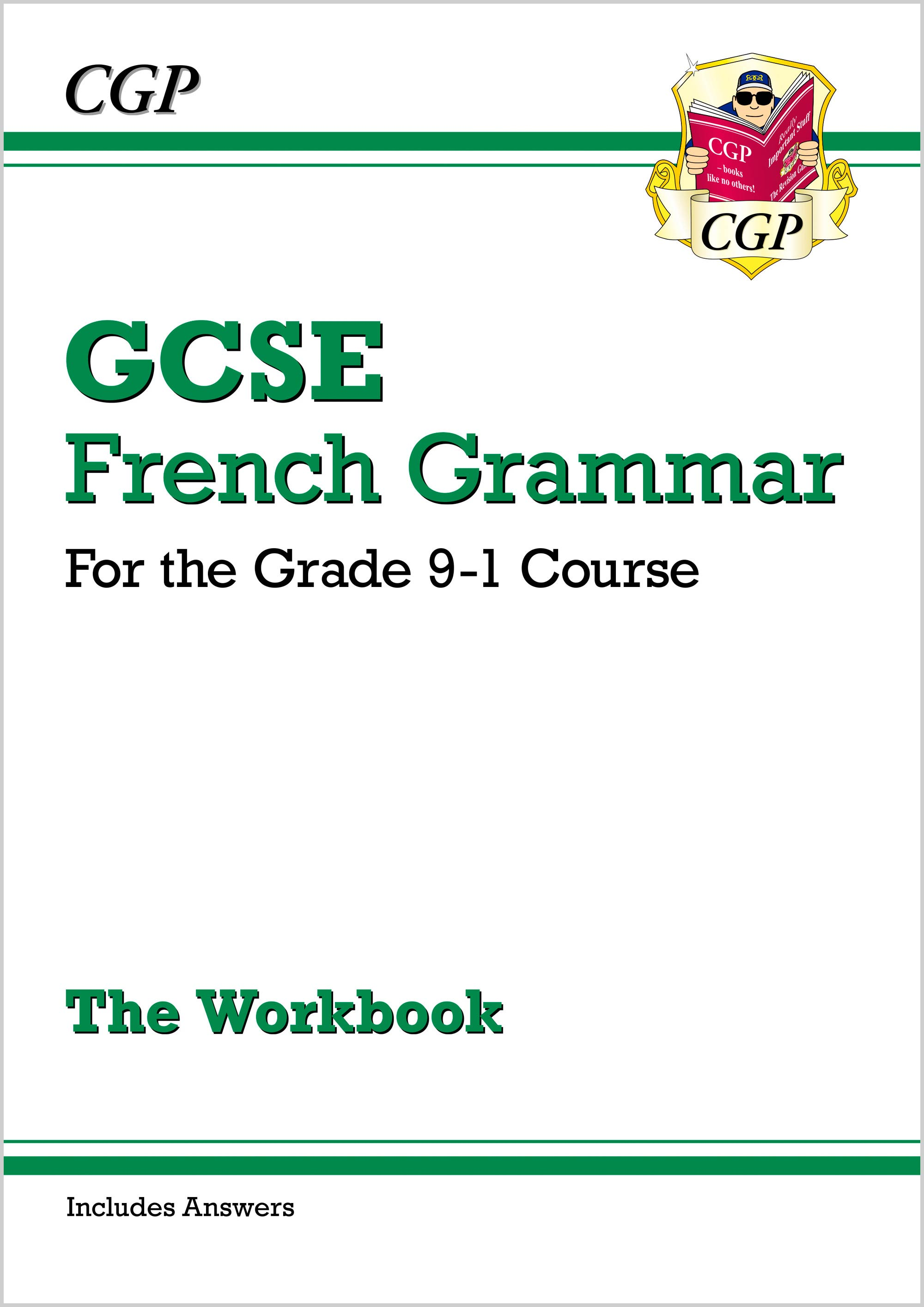 FGW41DK - New GCSE French Grammar Workbook - for the Grade 9-1 Course (includes Answers)
