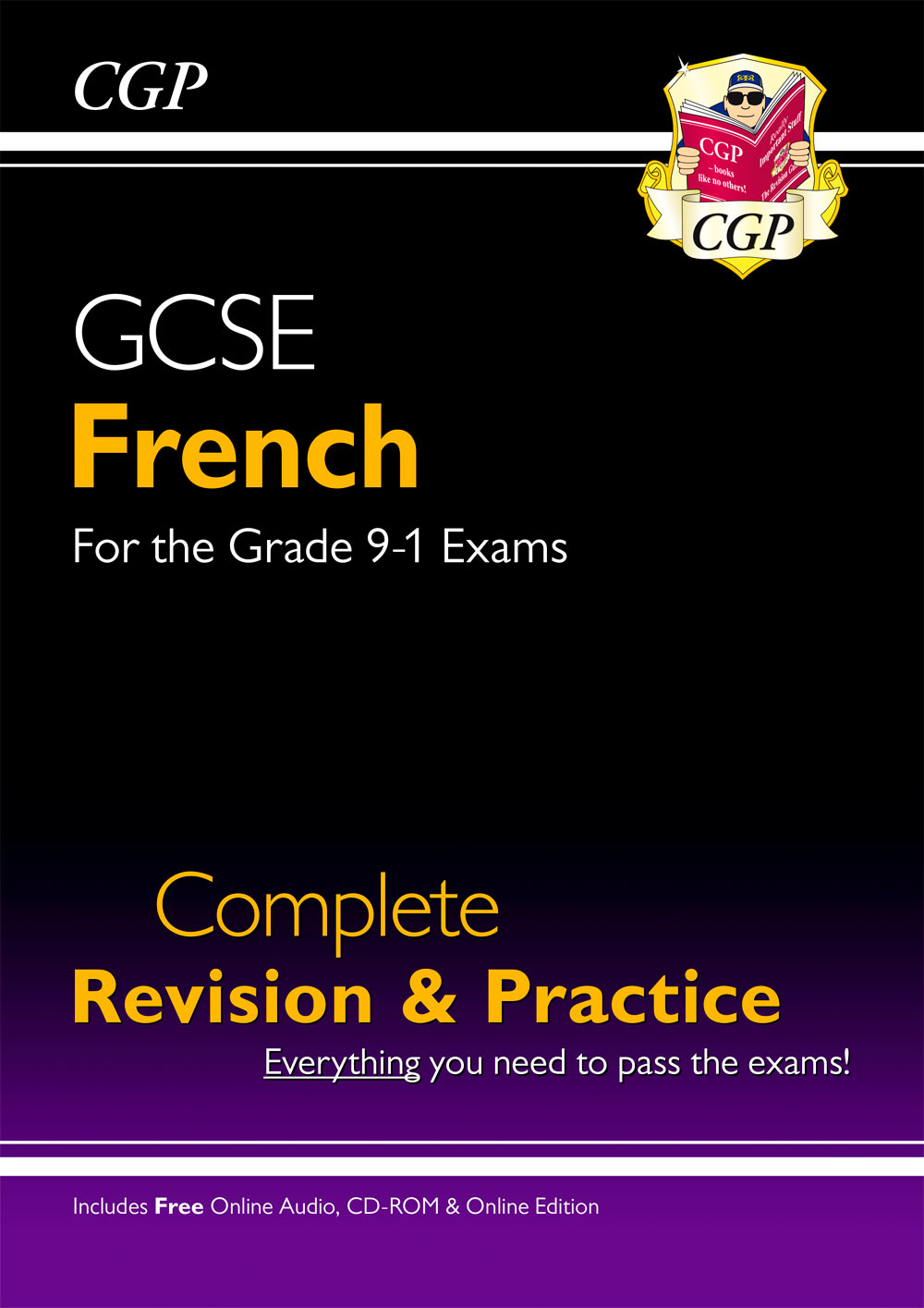 FHS44 - New GCSE French Complete Revision & Practice (with CD & Online Edition) - Grade 9-1 Course