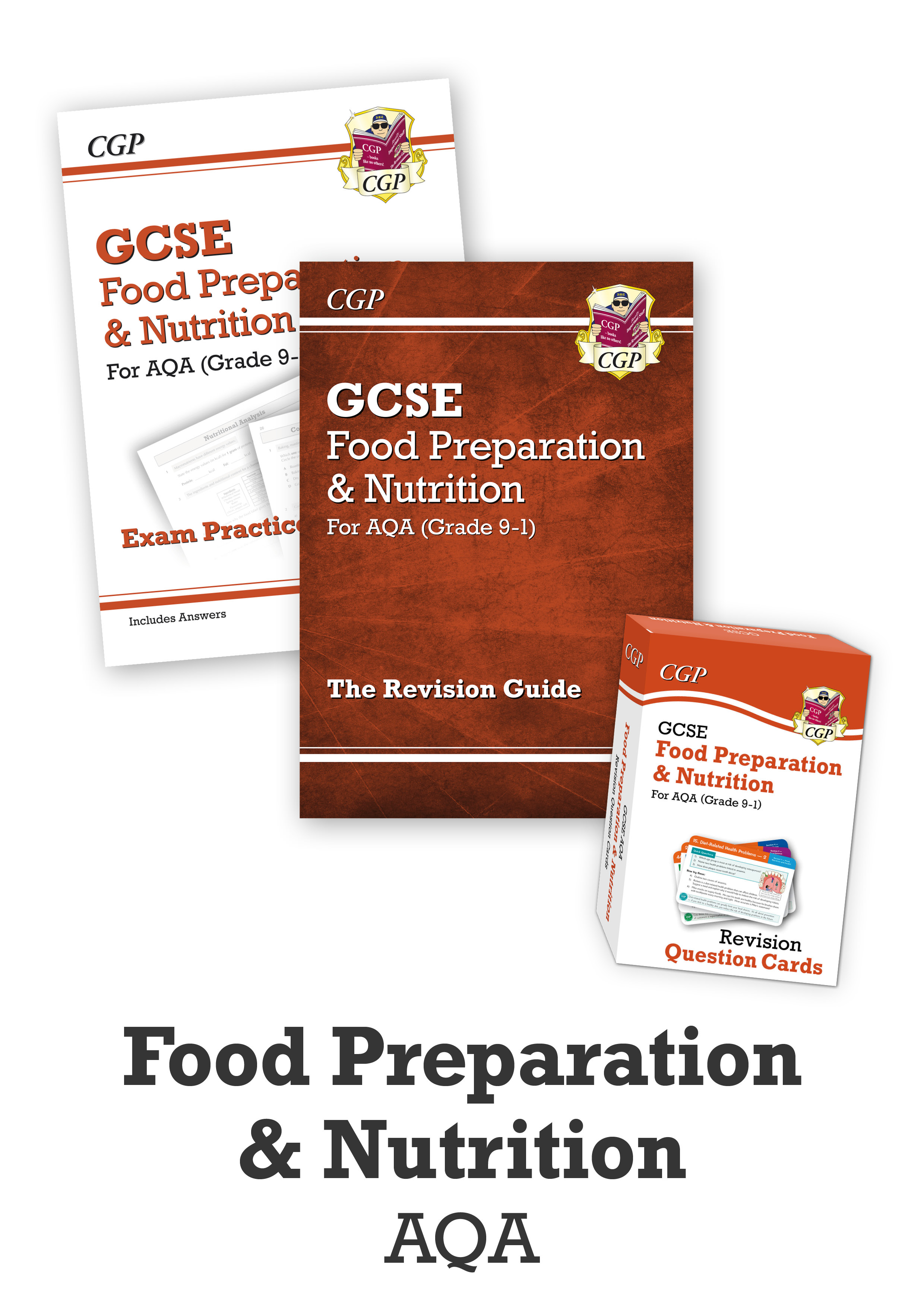 FNACUB41 - GCSE Home Learning Essentials Bundle: AQA Food Preparation & Nutrition