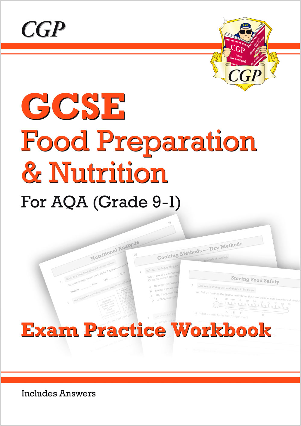 FNAQ41 - New Grade 9-1 GCSE Food Preparation & Nutrition - AQA Exam Practice Workbook (includes Answ