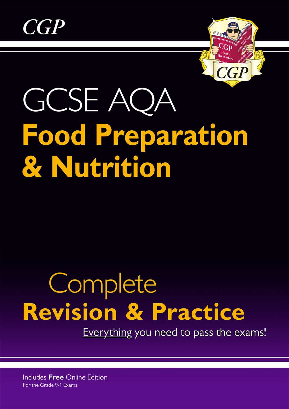 FNAS41 - New 9-1 GCSE Food Preparation & Nutrition AQA Complete Revision & Practice (with Online Edn