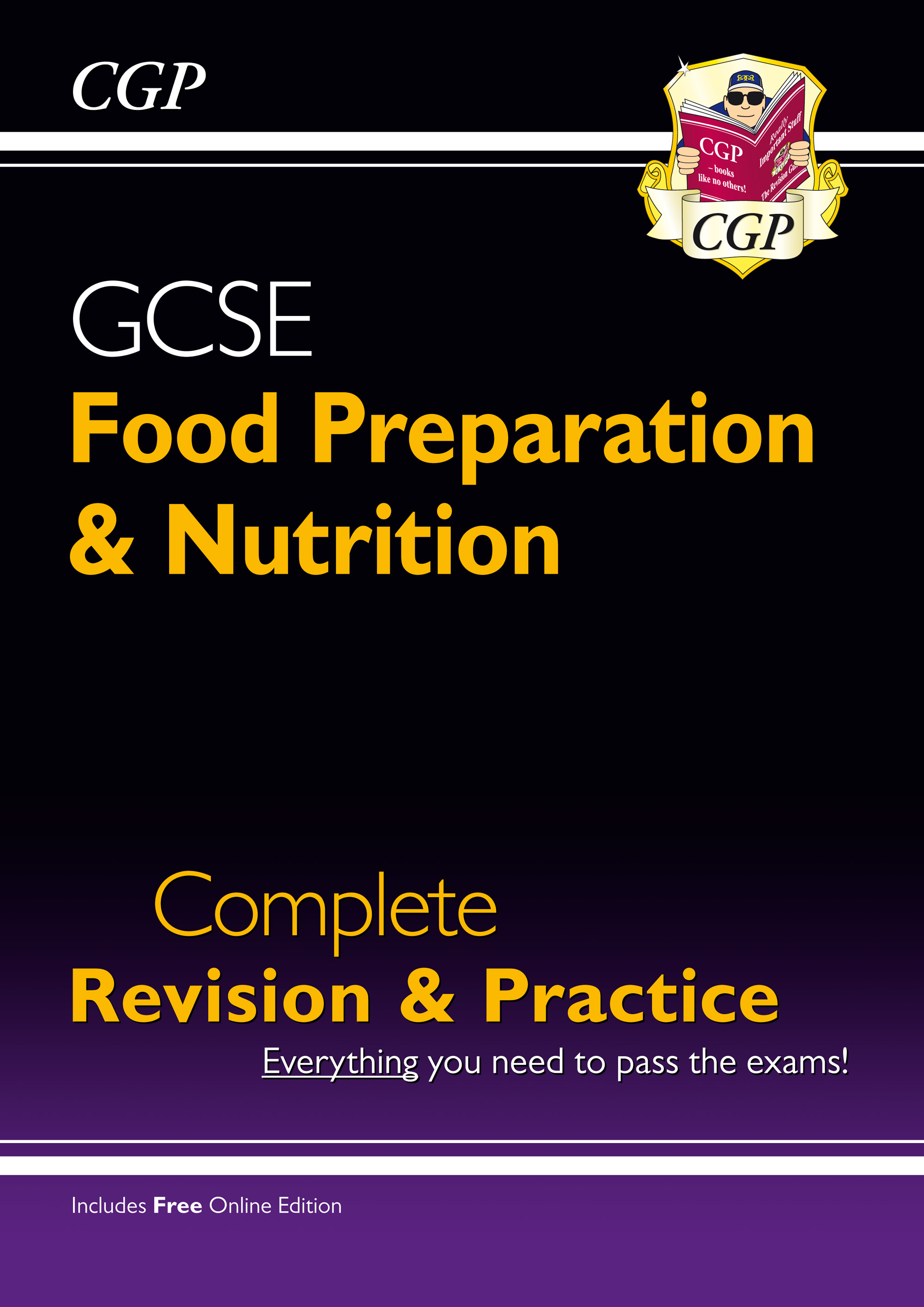 FNS41 - New Grade 9-1 GCSE Food Preparation & Nutrition - Complete Revision & Practice (with Online