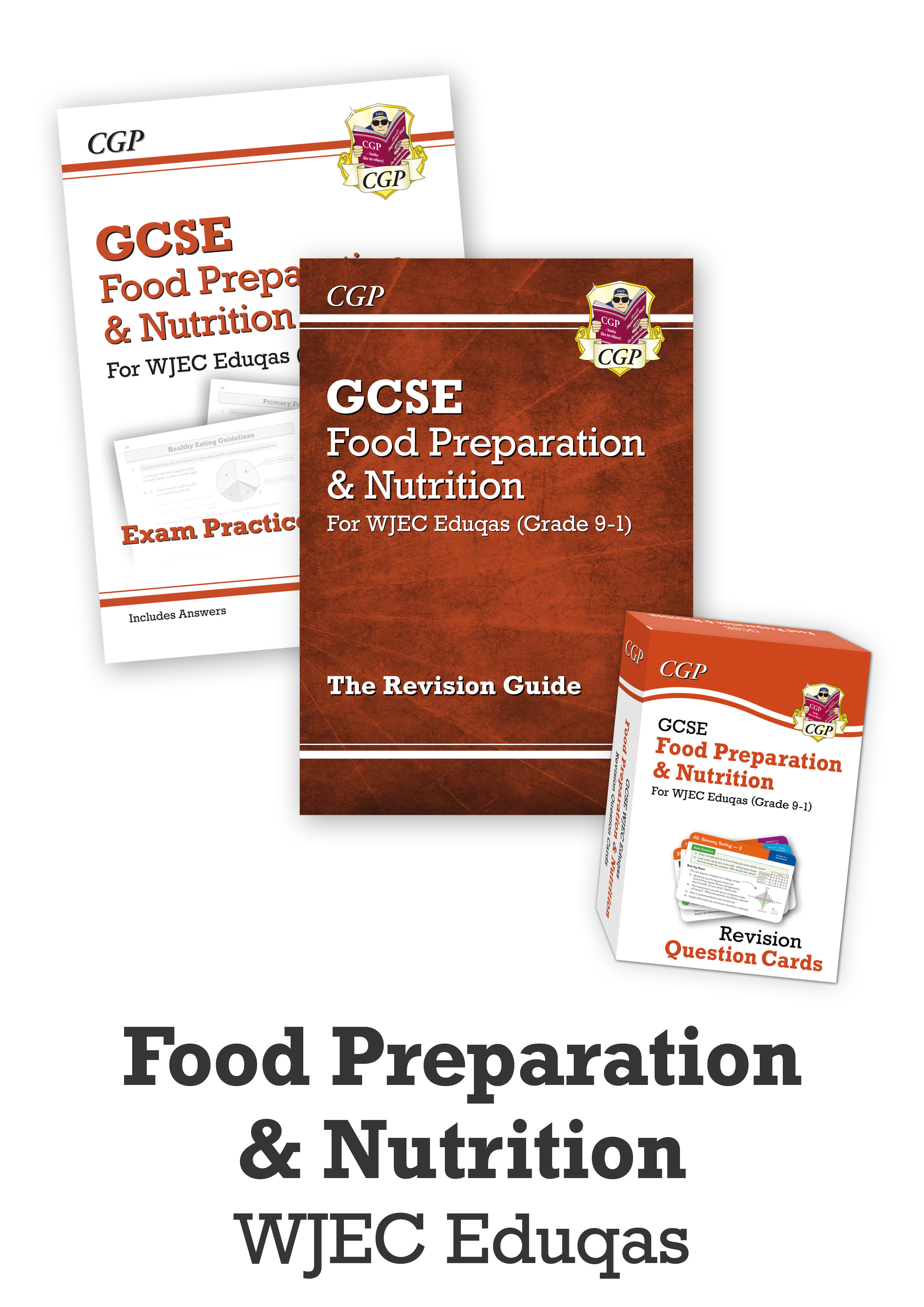 FNWCUB41 - GCSE Essentials Bundle: WJEC Eduqas Food Preparation & Nutrition